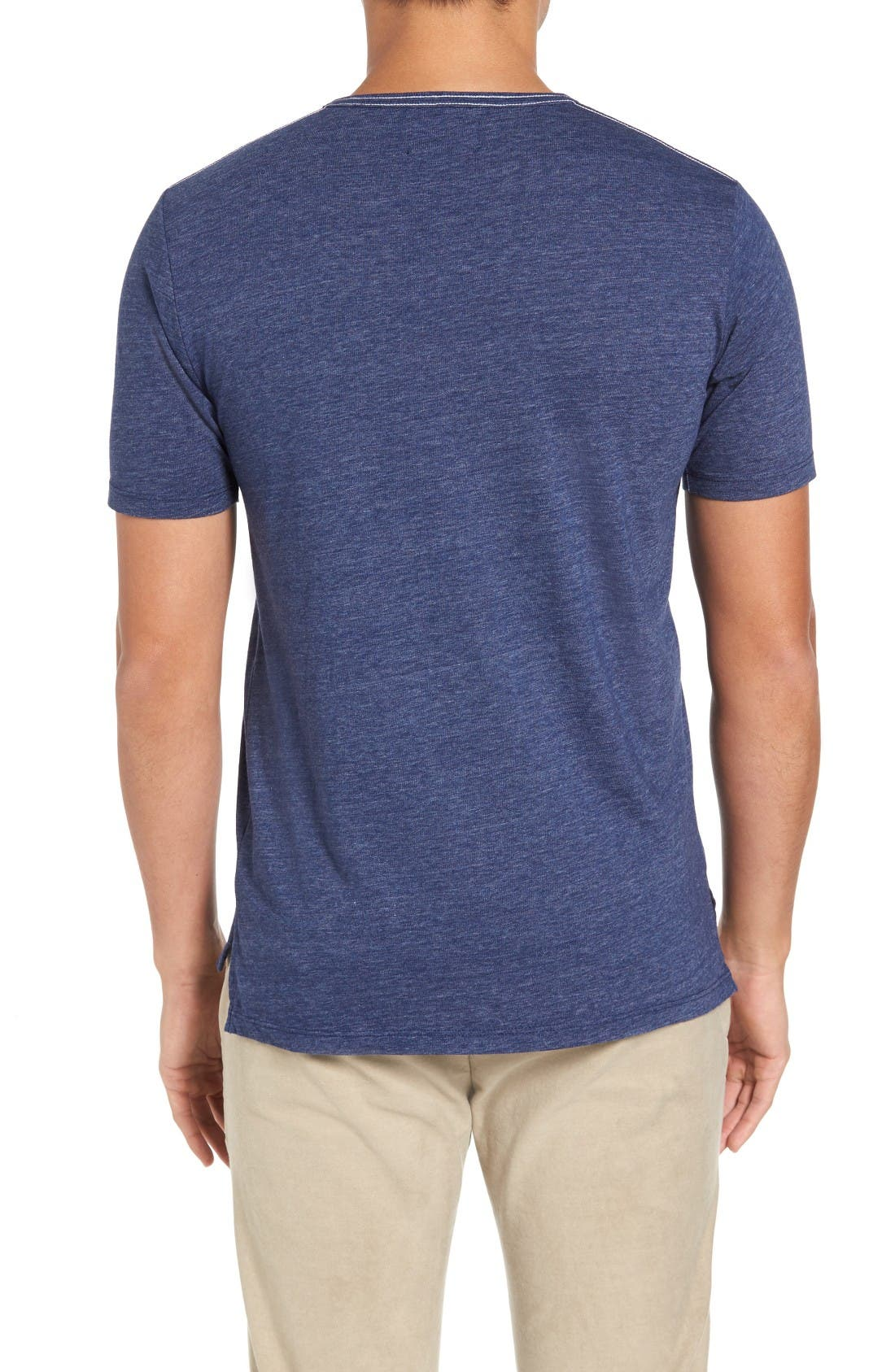 Alternate Image 2  - Goodlife Split Hem Henley