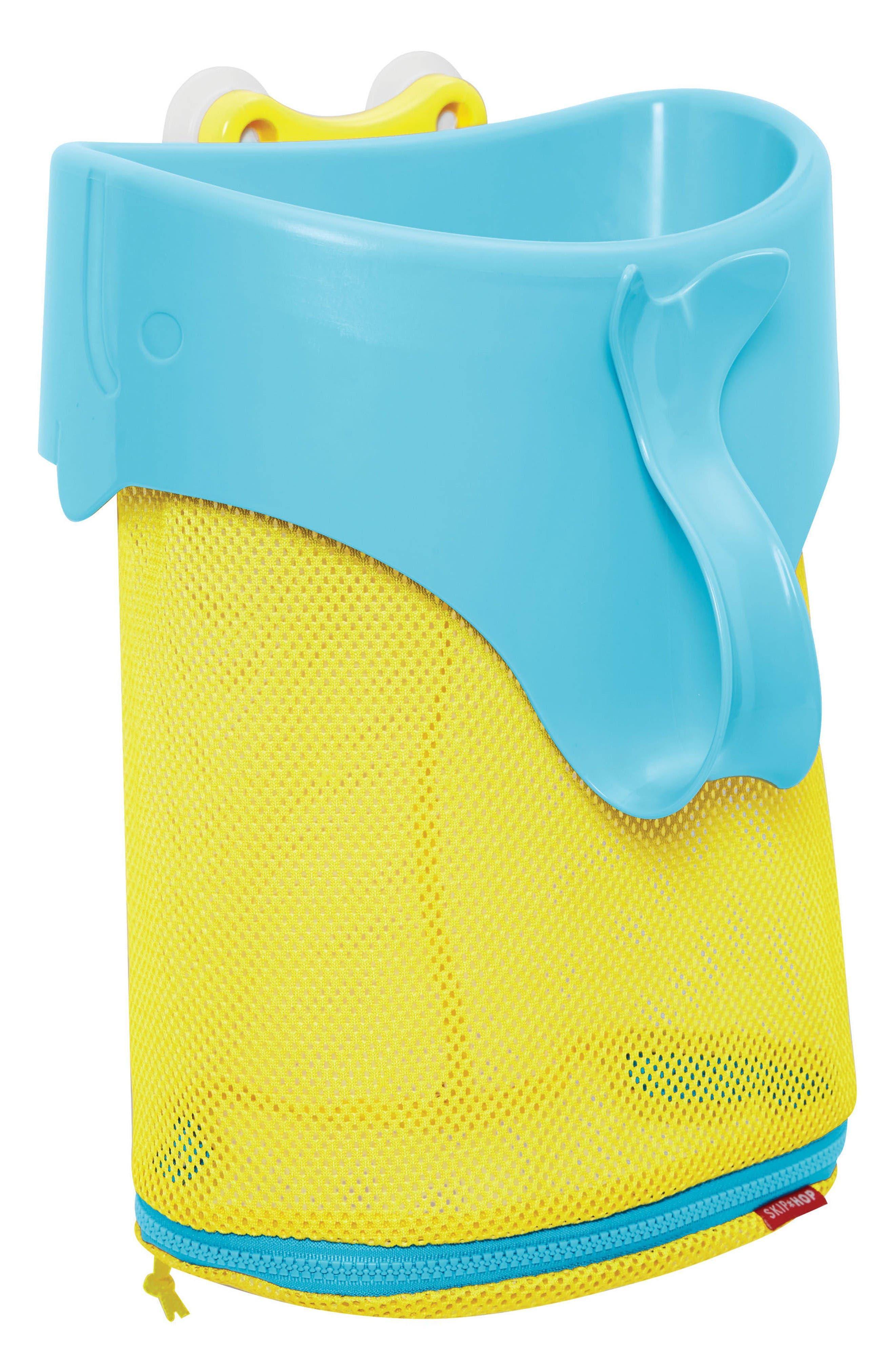 Moby Scoop & Splash Bath Toy Organizer,                         Main,                         color, Moby