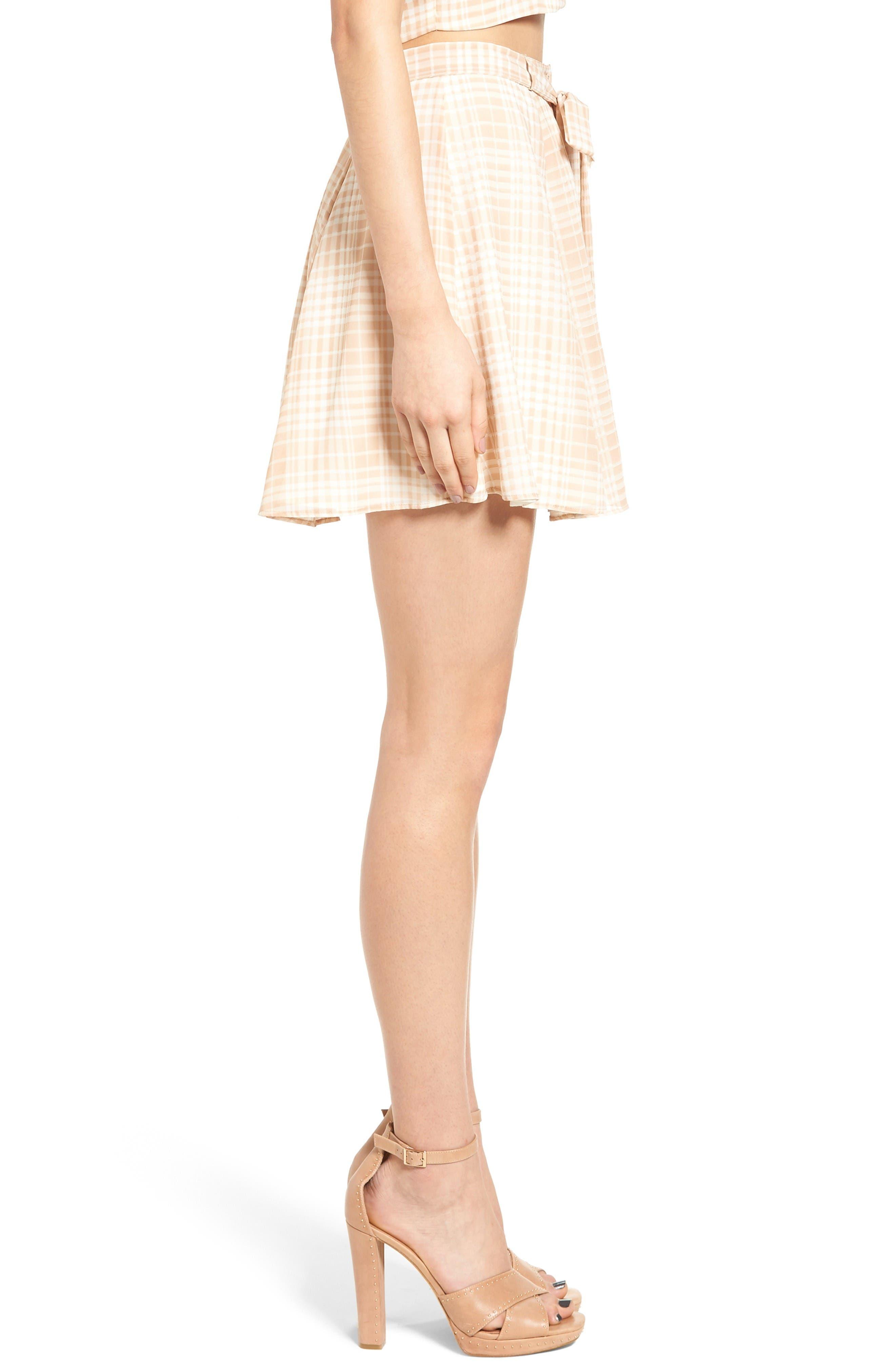 Dresden Skirt,                             Alternate thumbnail 4, color,                             Tan