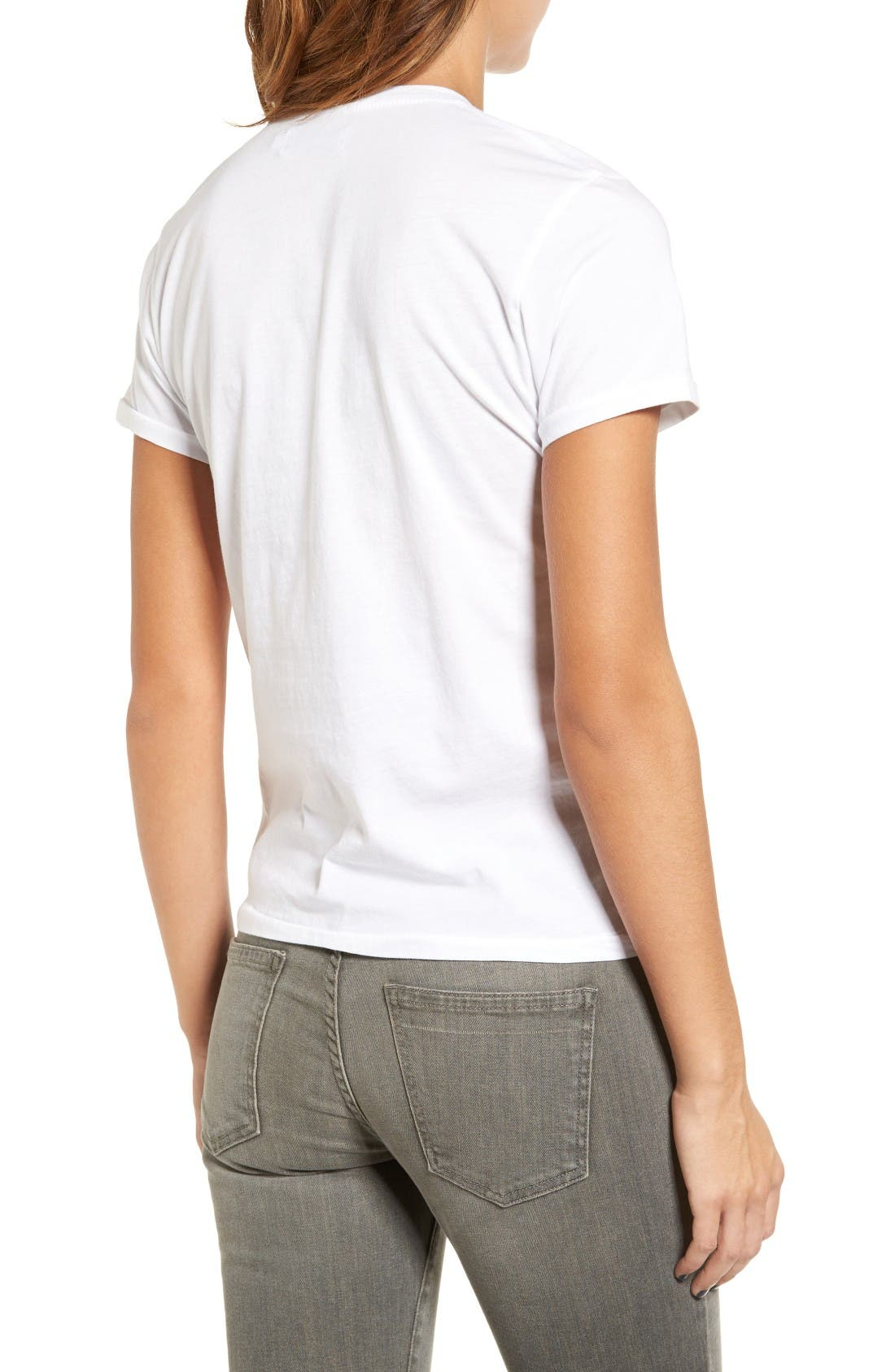 Alternate Image 2  - Sincerely Jules All Day Off Duty Cotton Tee