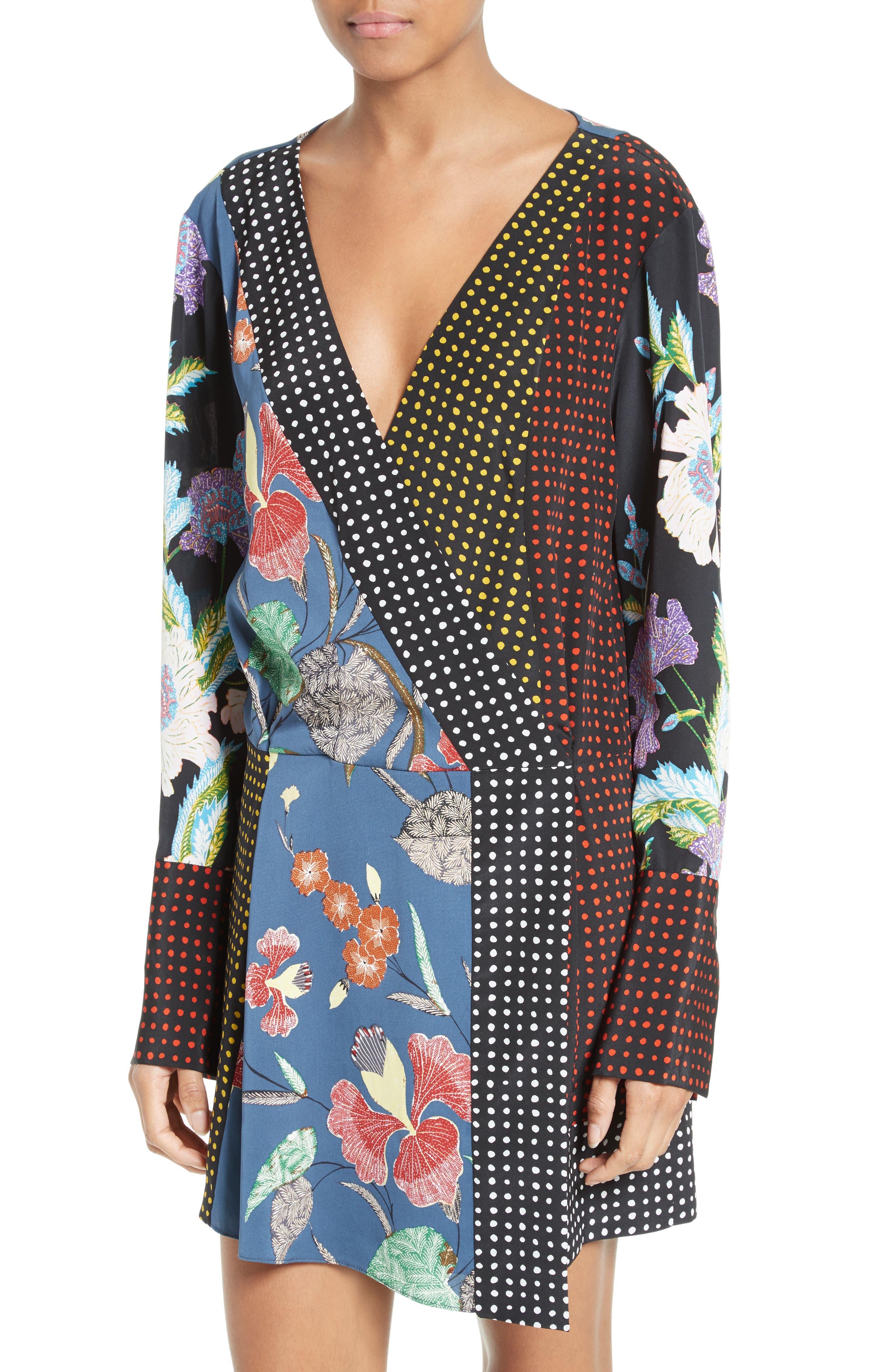 Alternate Image 4  - Diane von Furstenberg Faux Wrap Dress
