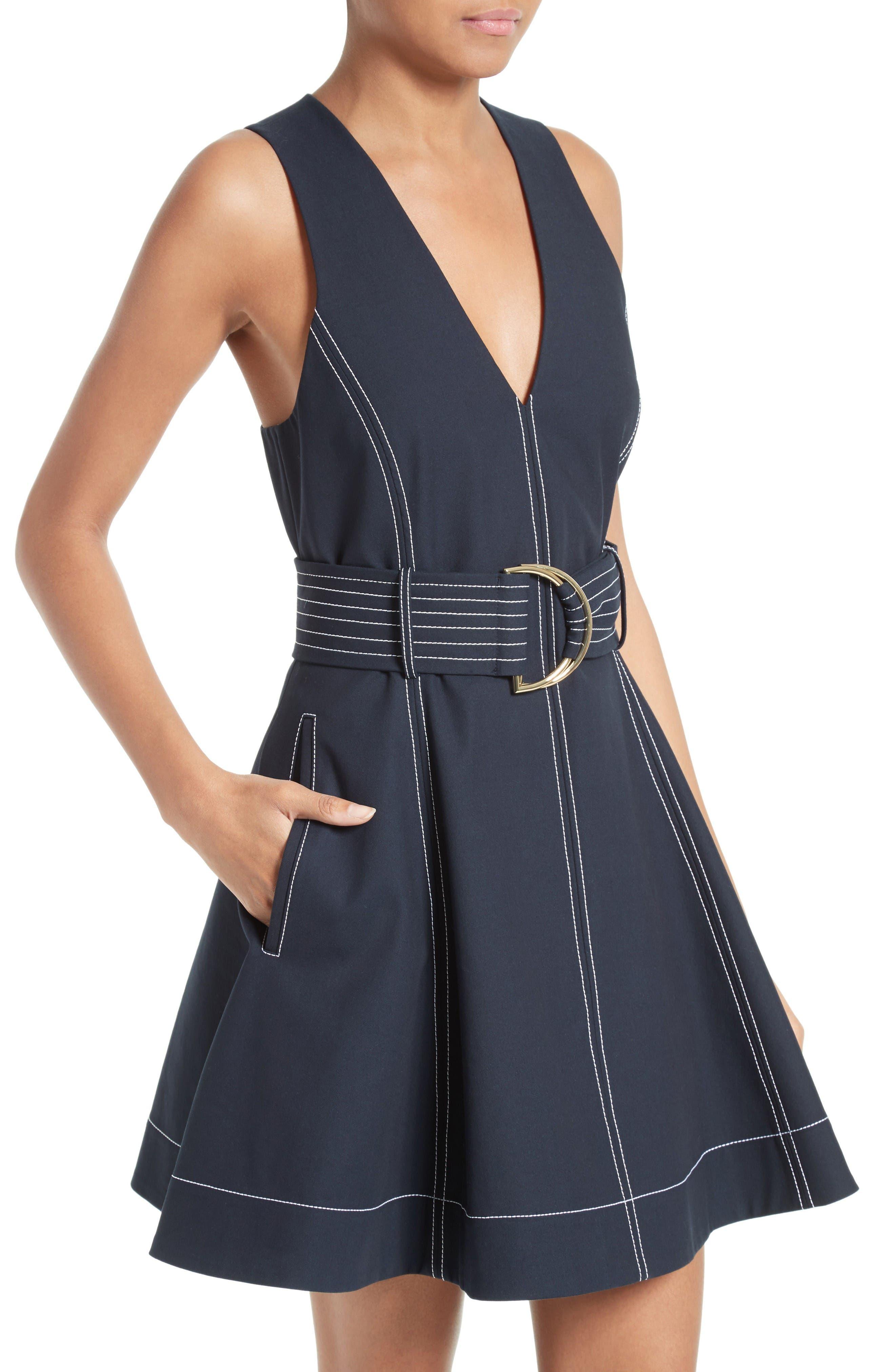 Alternate Image 4  - Diane von Furstenberg Fit & Flare Dress