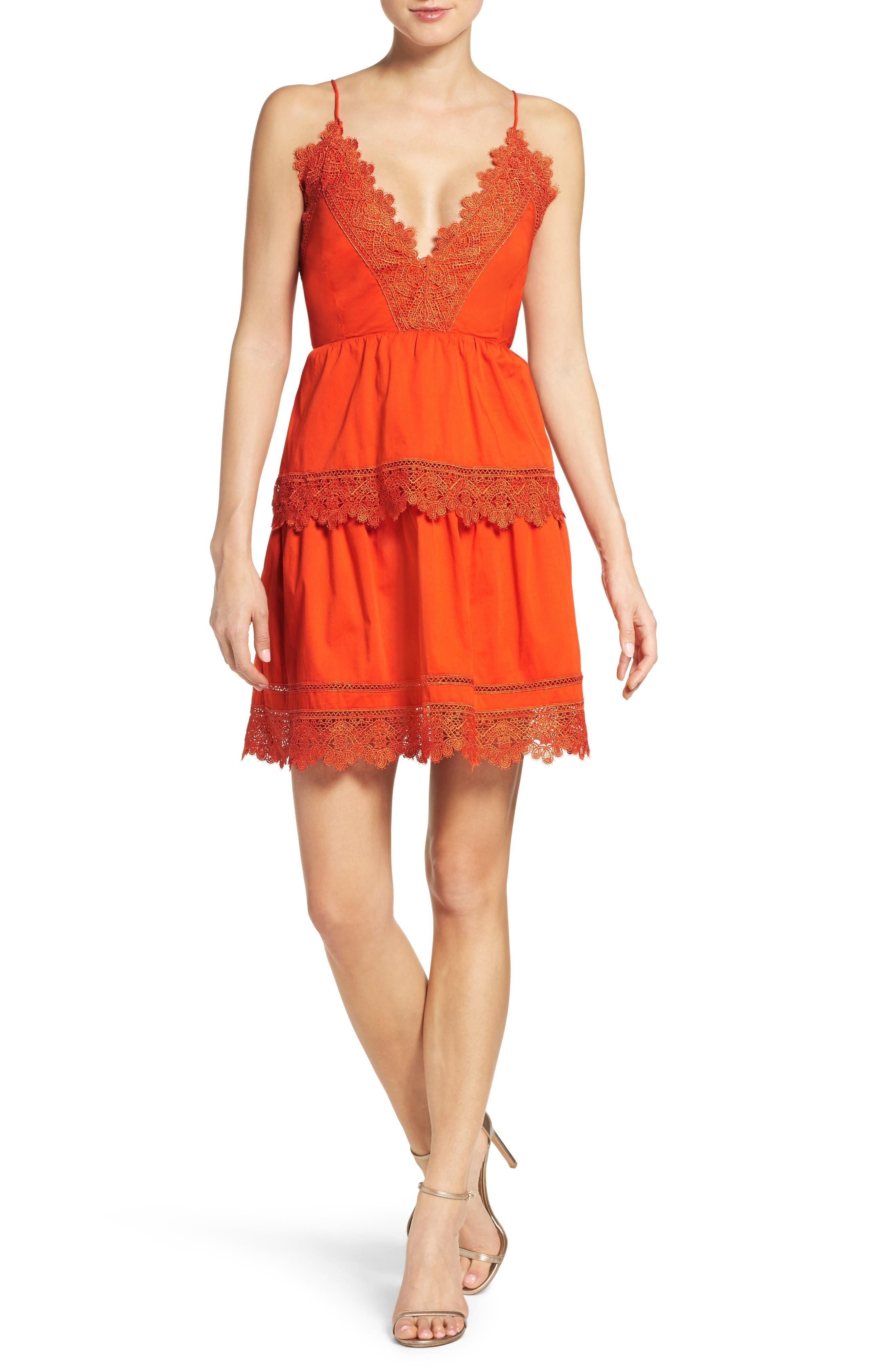 Alternate Image 5  - Bardot Sophia Peplum Dress