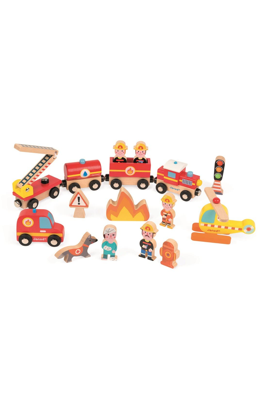 Story Express Firefighter Play Set,                             Main thumbnail 1, color,                             Multi