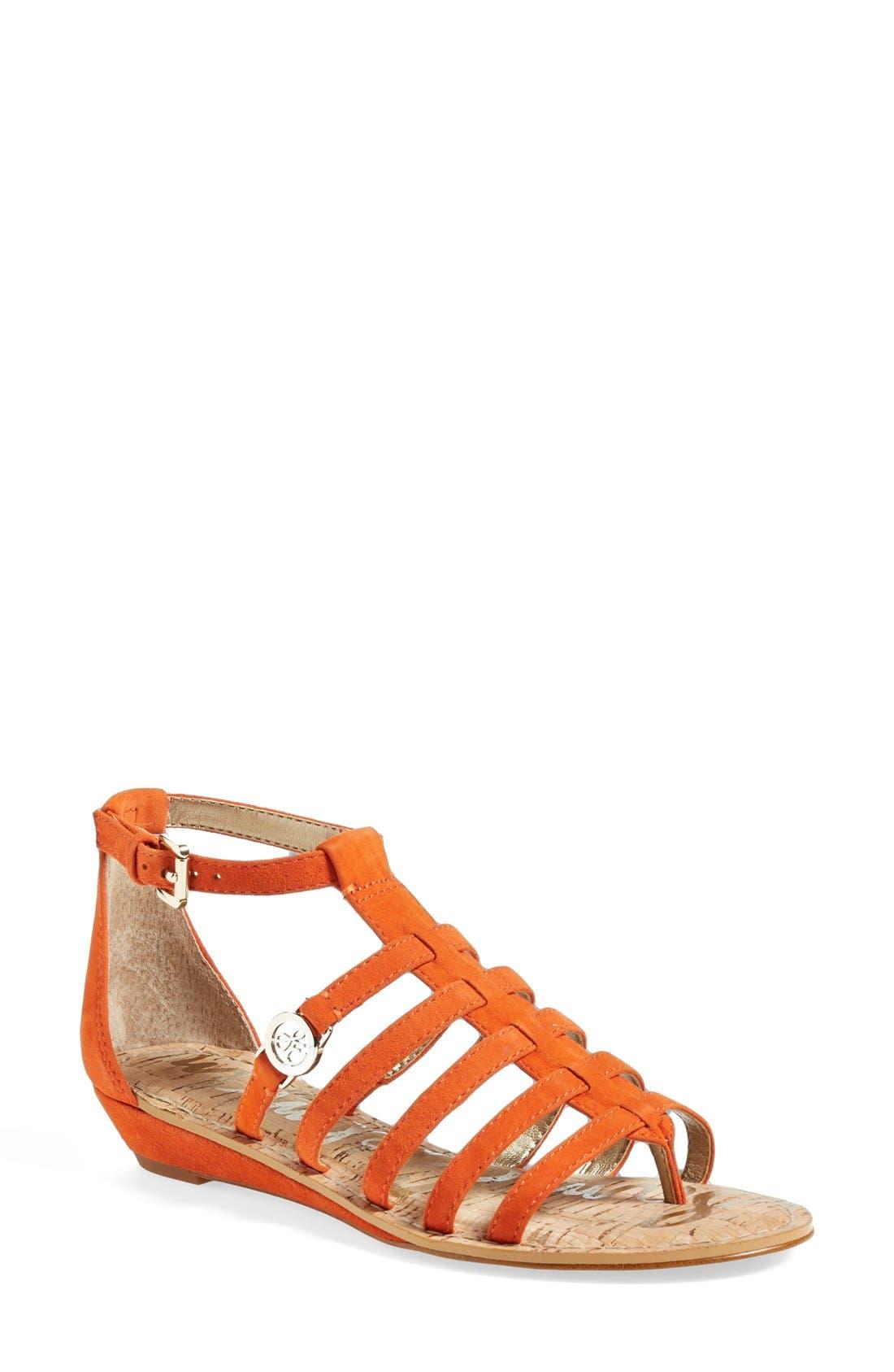 Alternate Image 1 Selected - Sam Edelman 'Donna' Gladiator Sandal (Women)