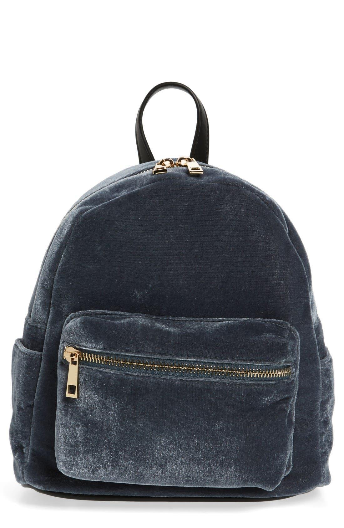Alternate Image 1 Selected - BP. Mini Velvet Backpack