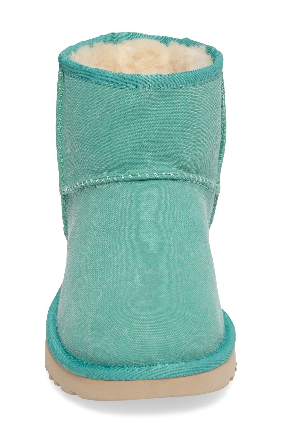 Classic Mini II Bootie,                             Alternate thumbnail 3, color,                             Verde Canvas