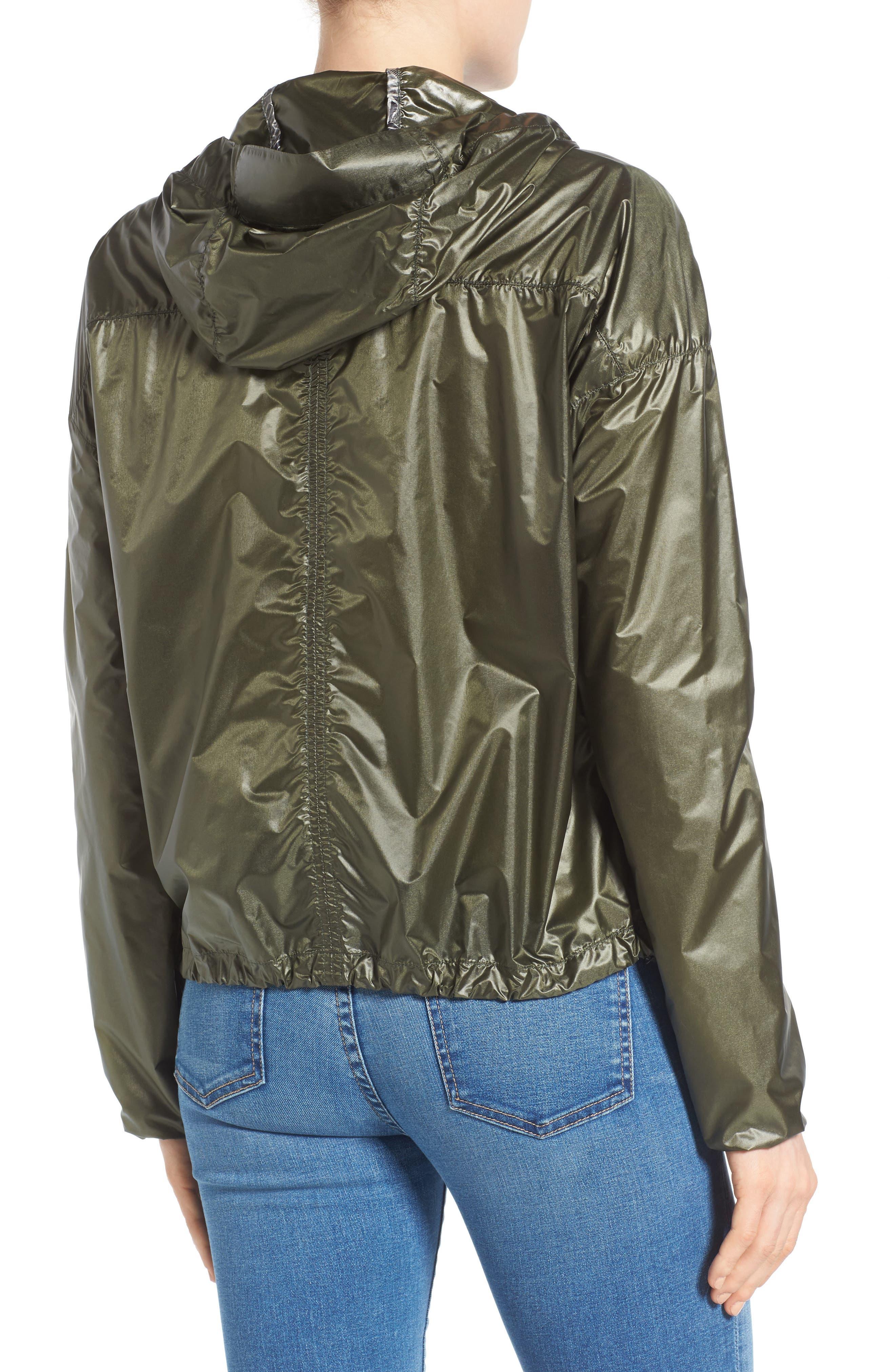 Wabasca Hooded Jacket,                             Alternate thumbnail 2, color,                             Sage