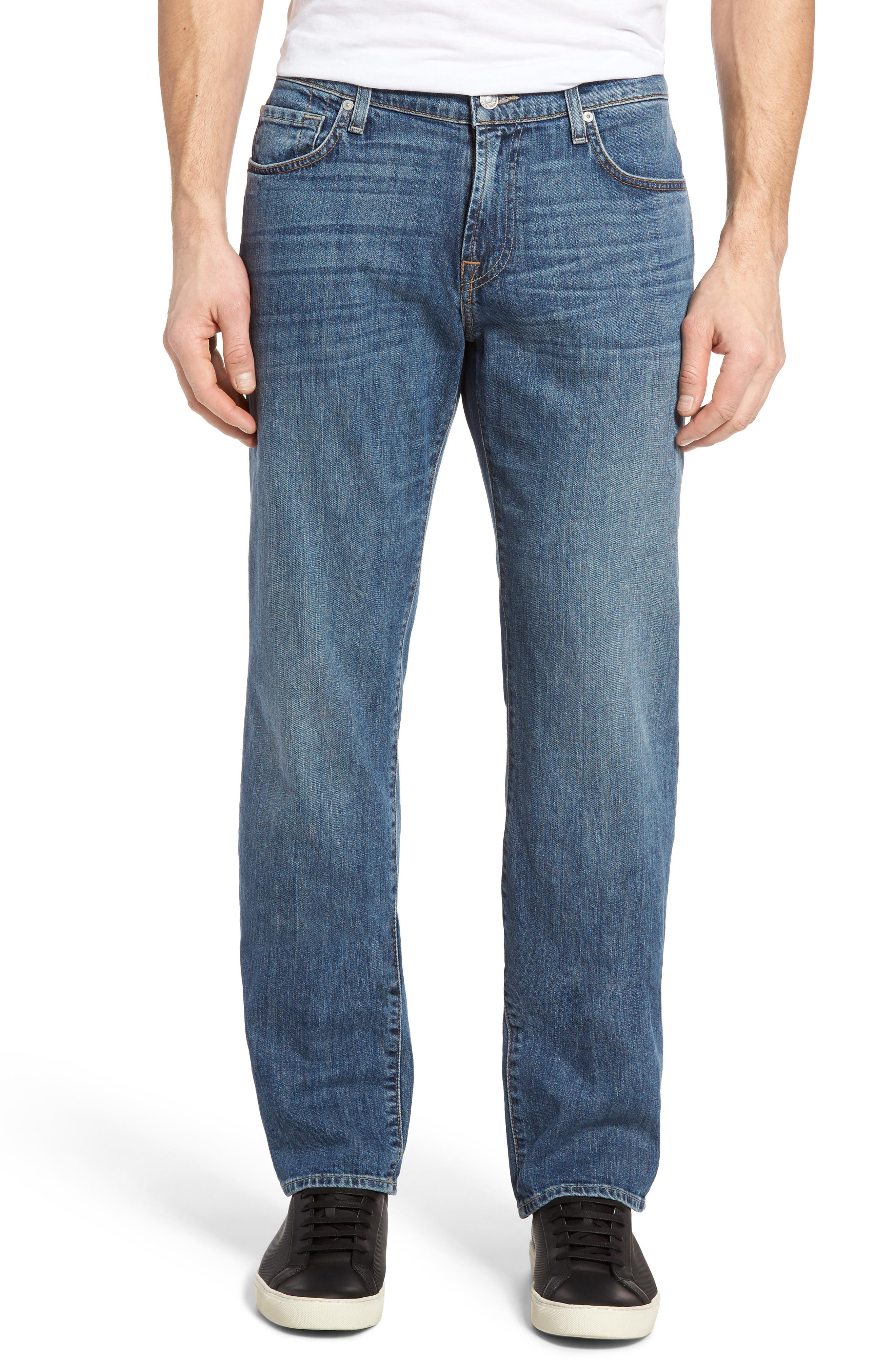 7 For All Mankind® Austyn Relaxed Fit Jeans (Desert Sun)