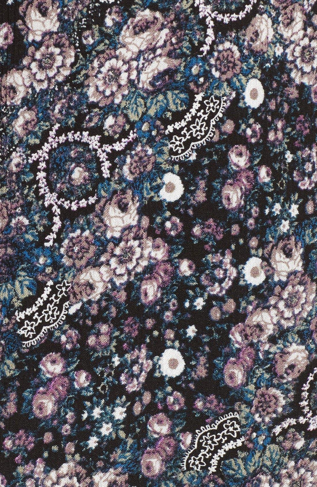 Alternate Image 5  - Chloe & Katie Print Bomber Jacket