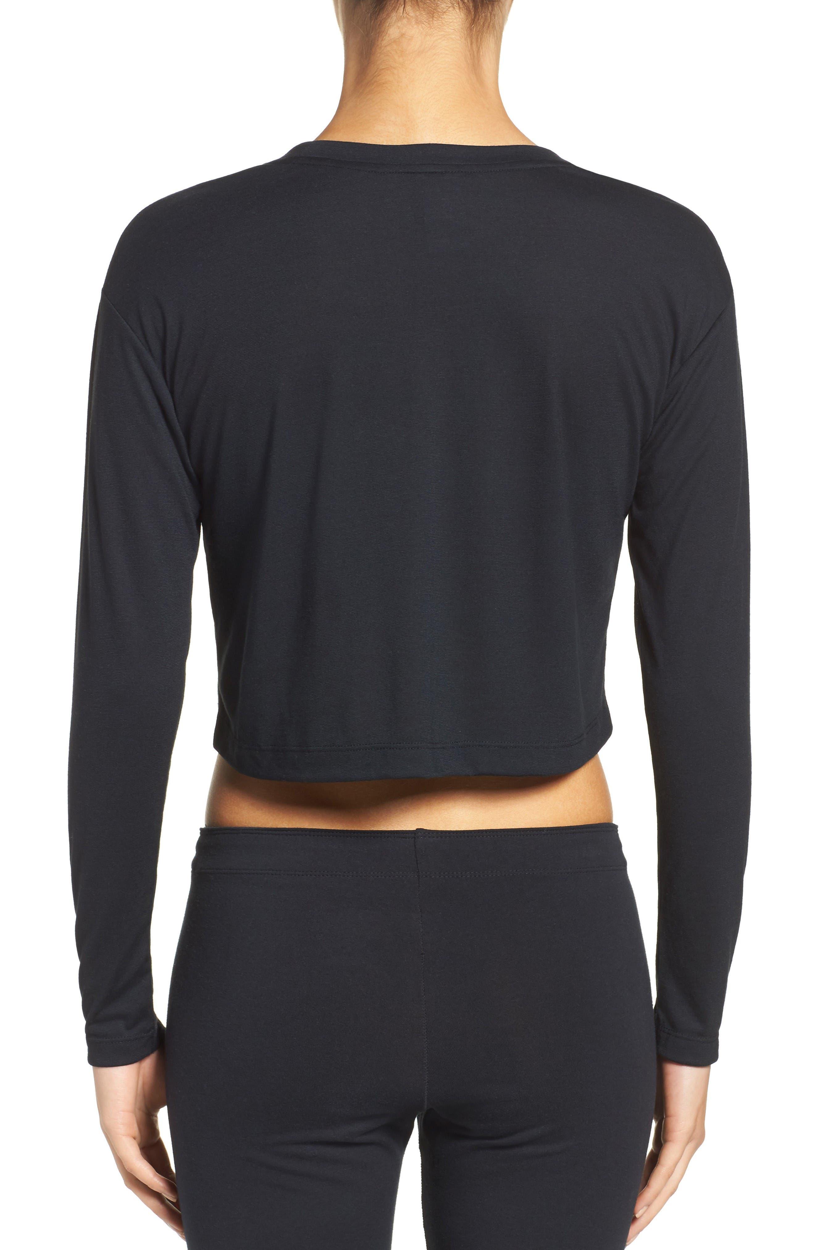 Alternate Image 2  - Nike Sportswear Graphic Crop Tee