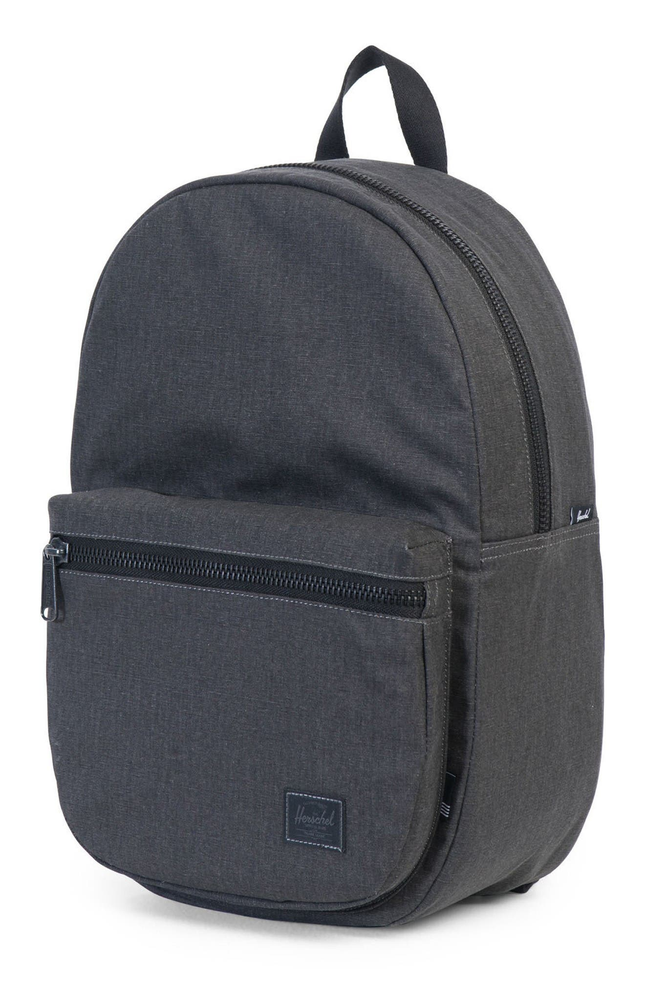 Lawson Backpack,                             Alternate thumbnail 4, color,                             Black Ion Washed