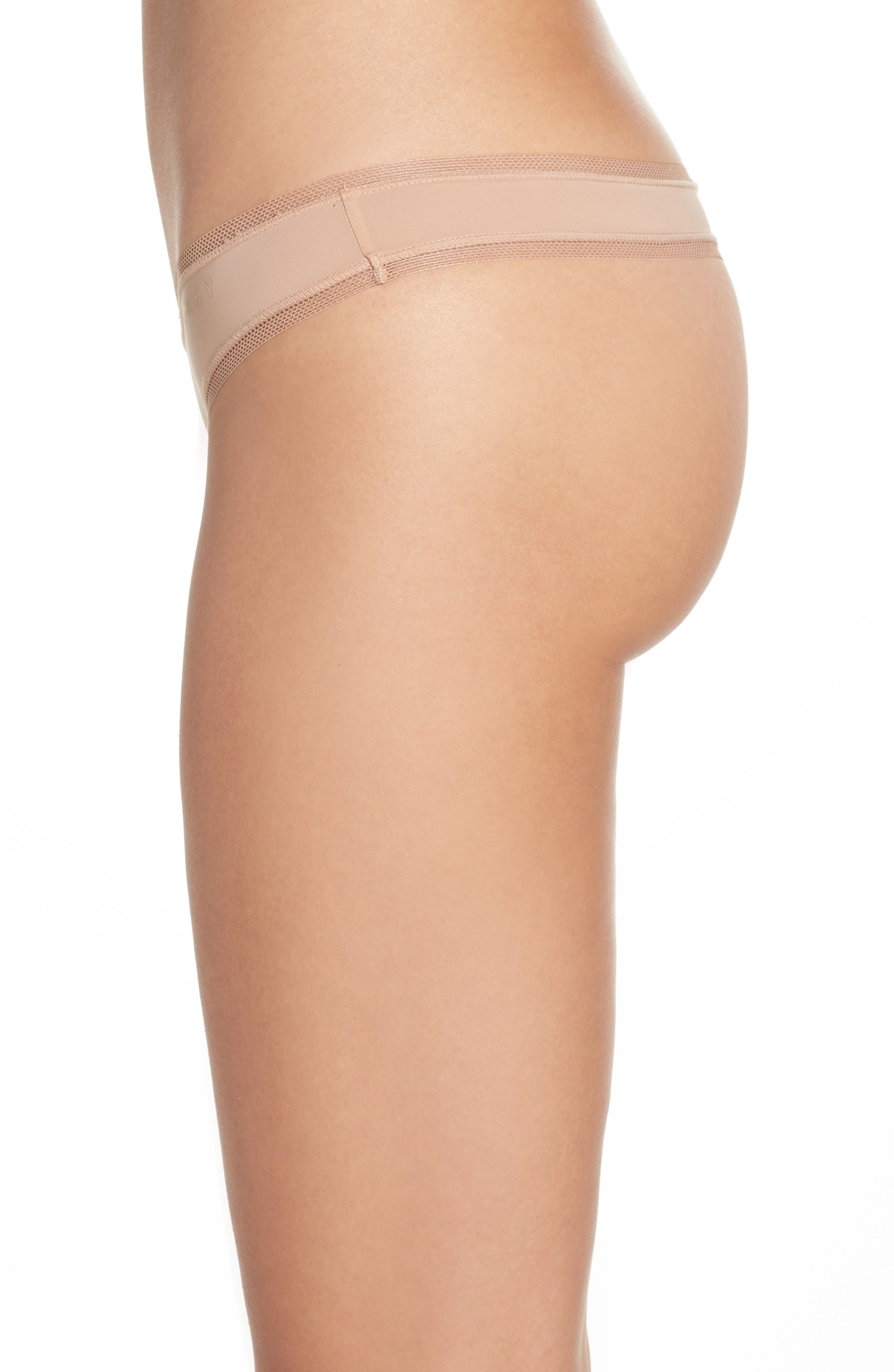 Alternate Image 3  - DKNY Low Rise Thong