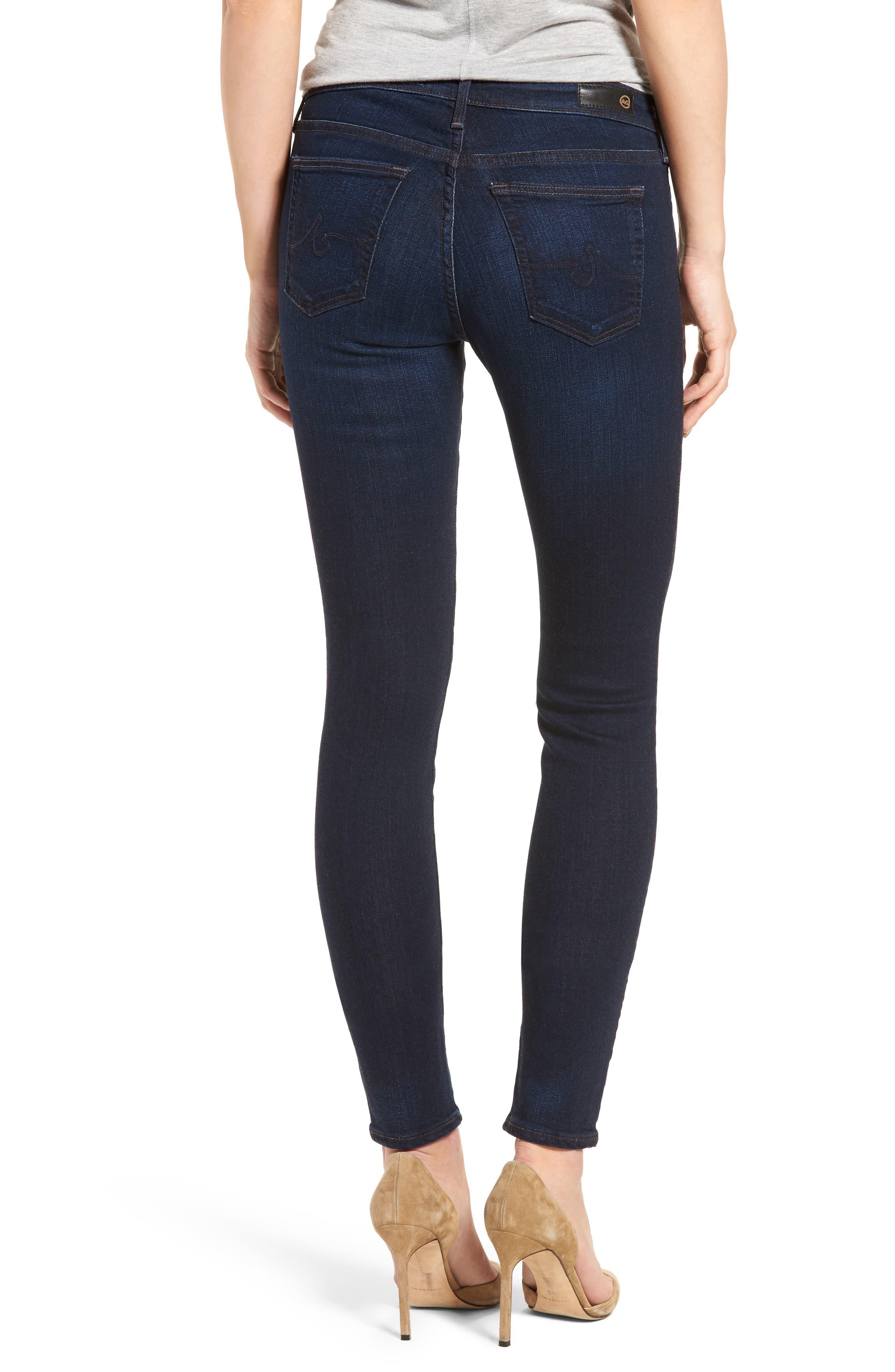 Alternate Image 2  - AG Jeans Super Skinny Stretch Jeans (Jetsetter)