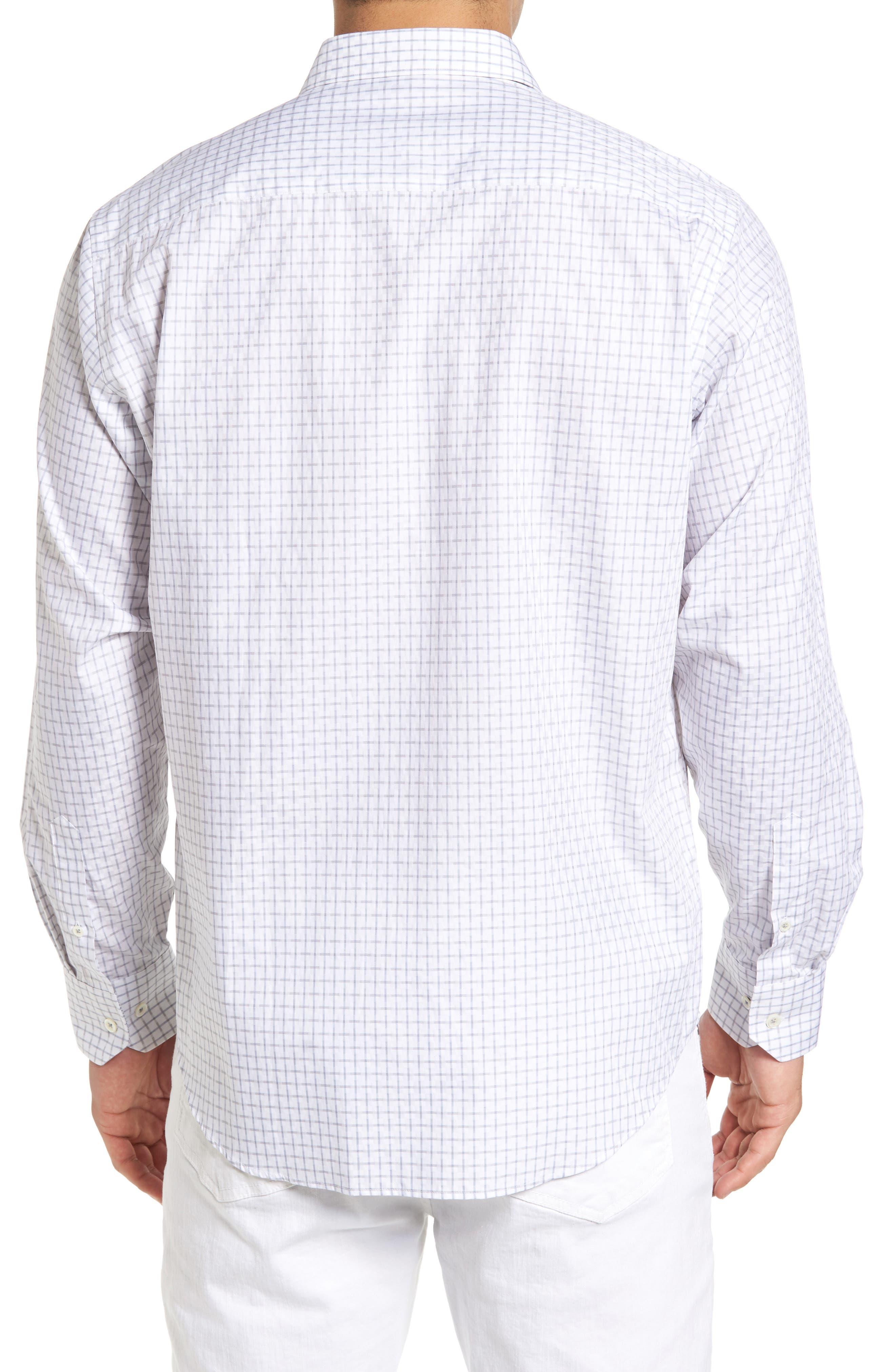 Alternate Image 2  - Bugatchi Classic Fit Graphic Sport Shirt