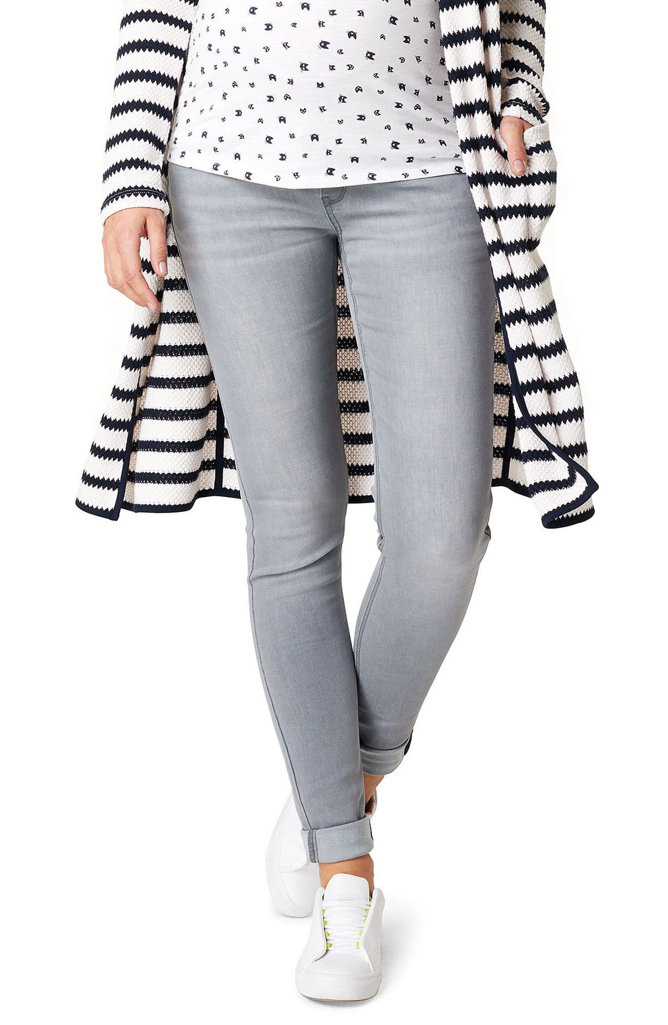 Alternate Image 1 Selected - Noppies Iva Skinny Maternity Jeans