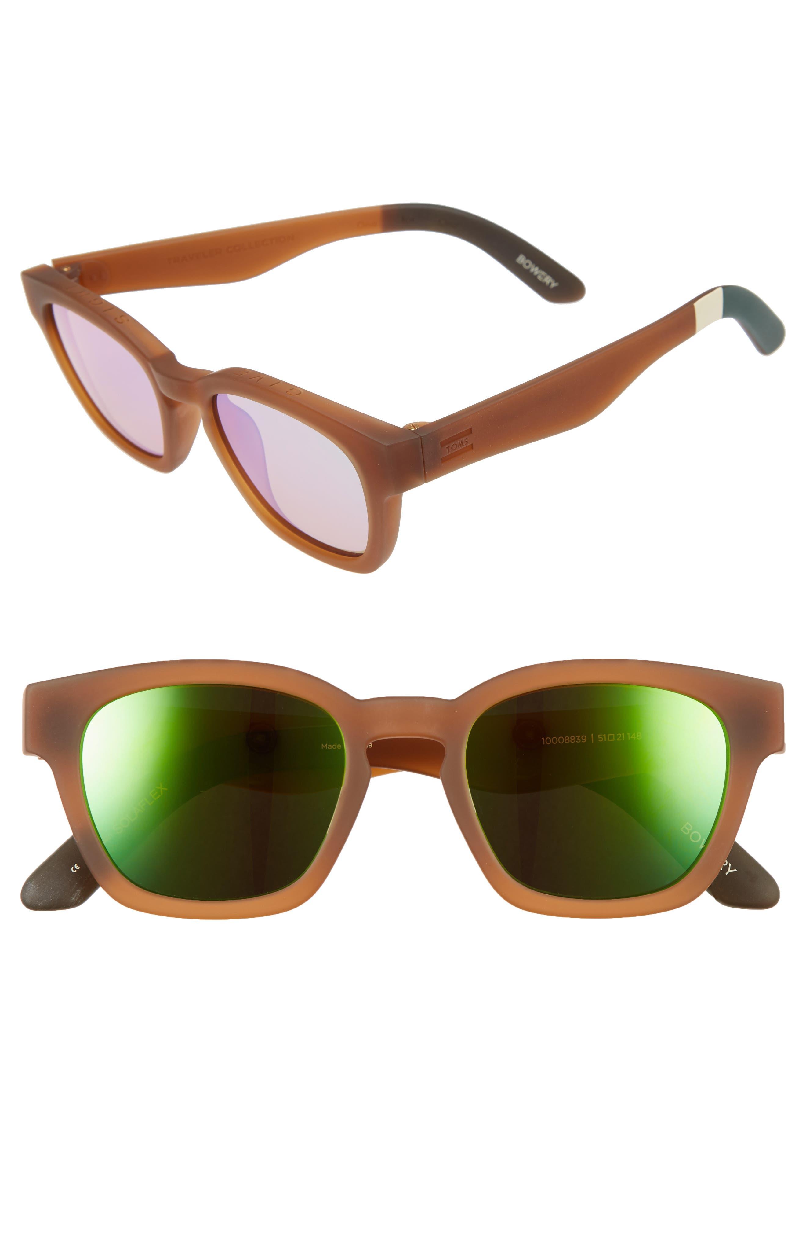 TOMS Bowery 51mm Sunglasses