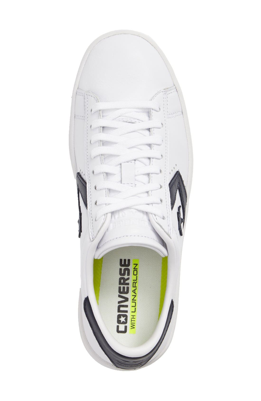Alternate Image 3  - Converse Pro Leather LP Sneaker (Women)