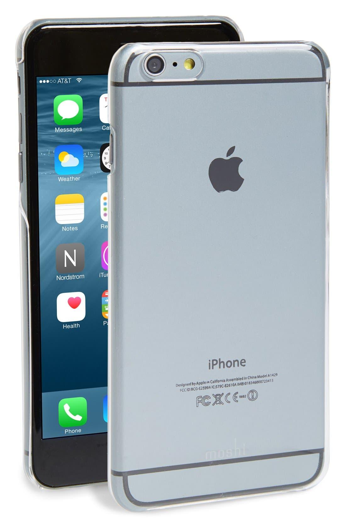 Alternate Image 1 Selected - Moshi 'iGlaze XT' iPhone 6 Plus & 6s Plus Case