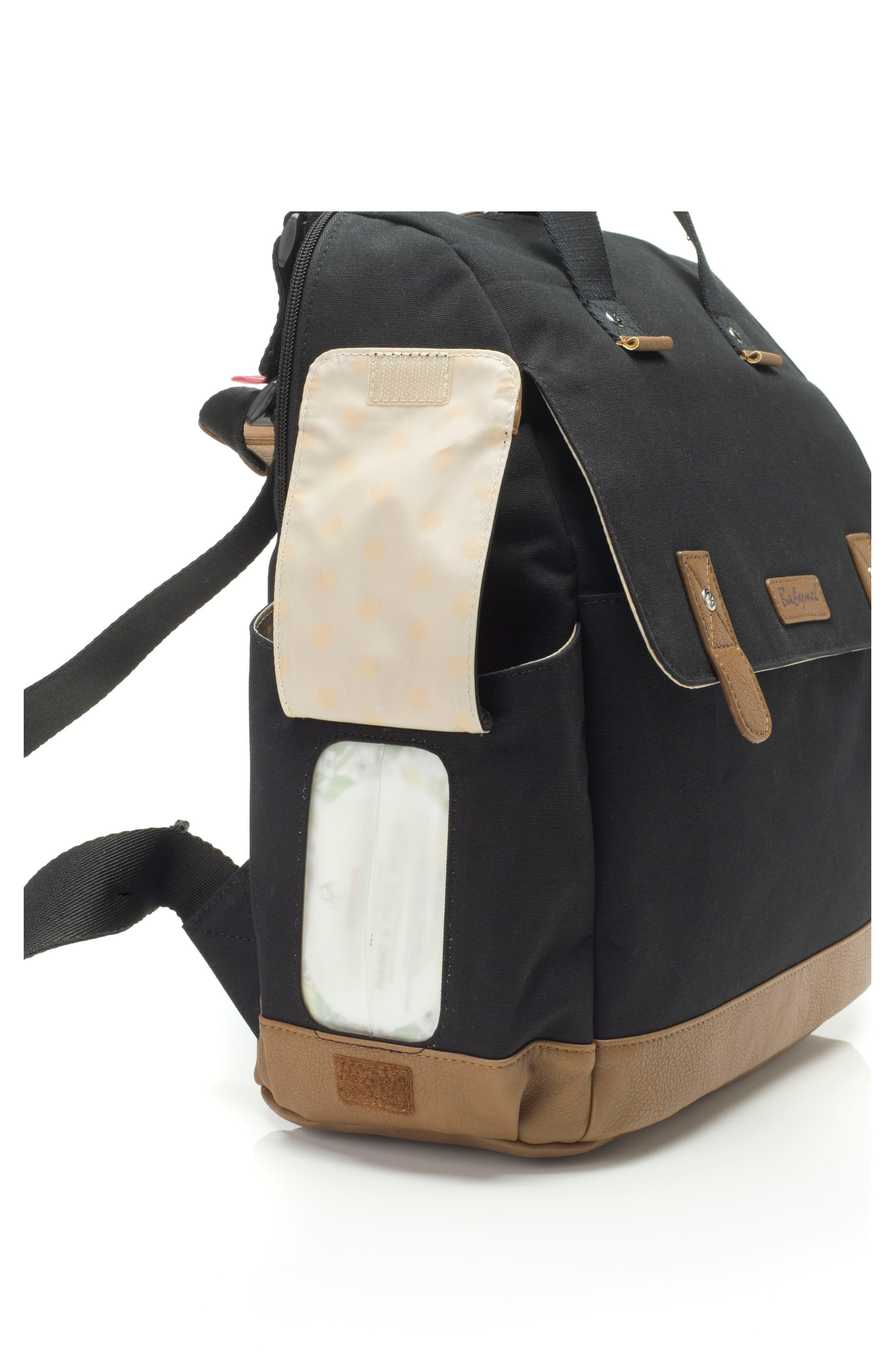 Alternate Image 3  - Babymel Robyn Convertible Diaper Backpack