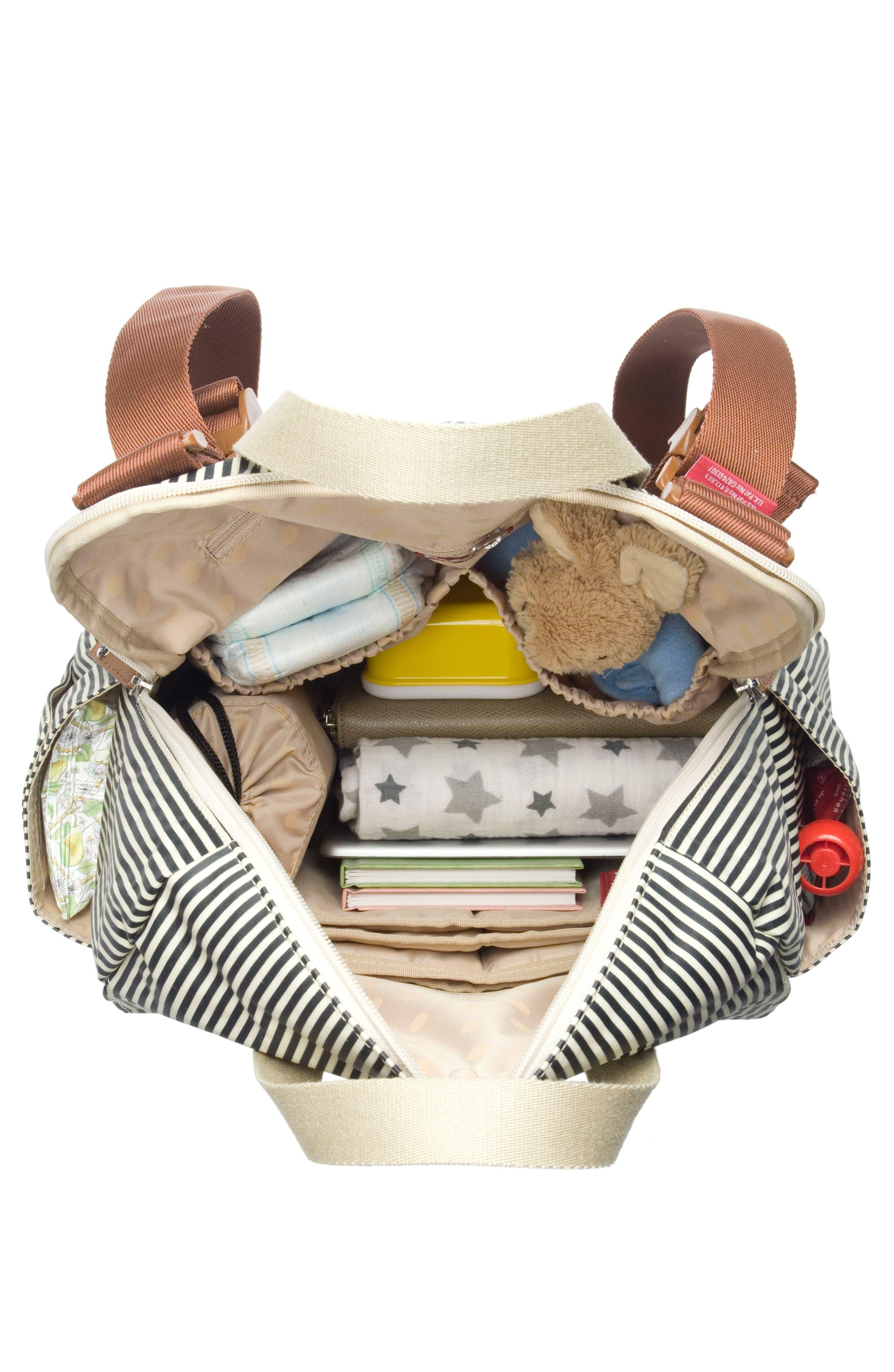 Alternate Image 8  - Babymel Robyn Convertible Diaper Backpack
