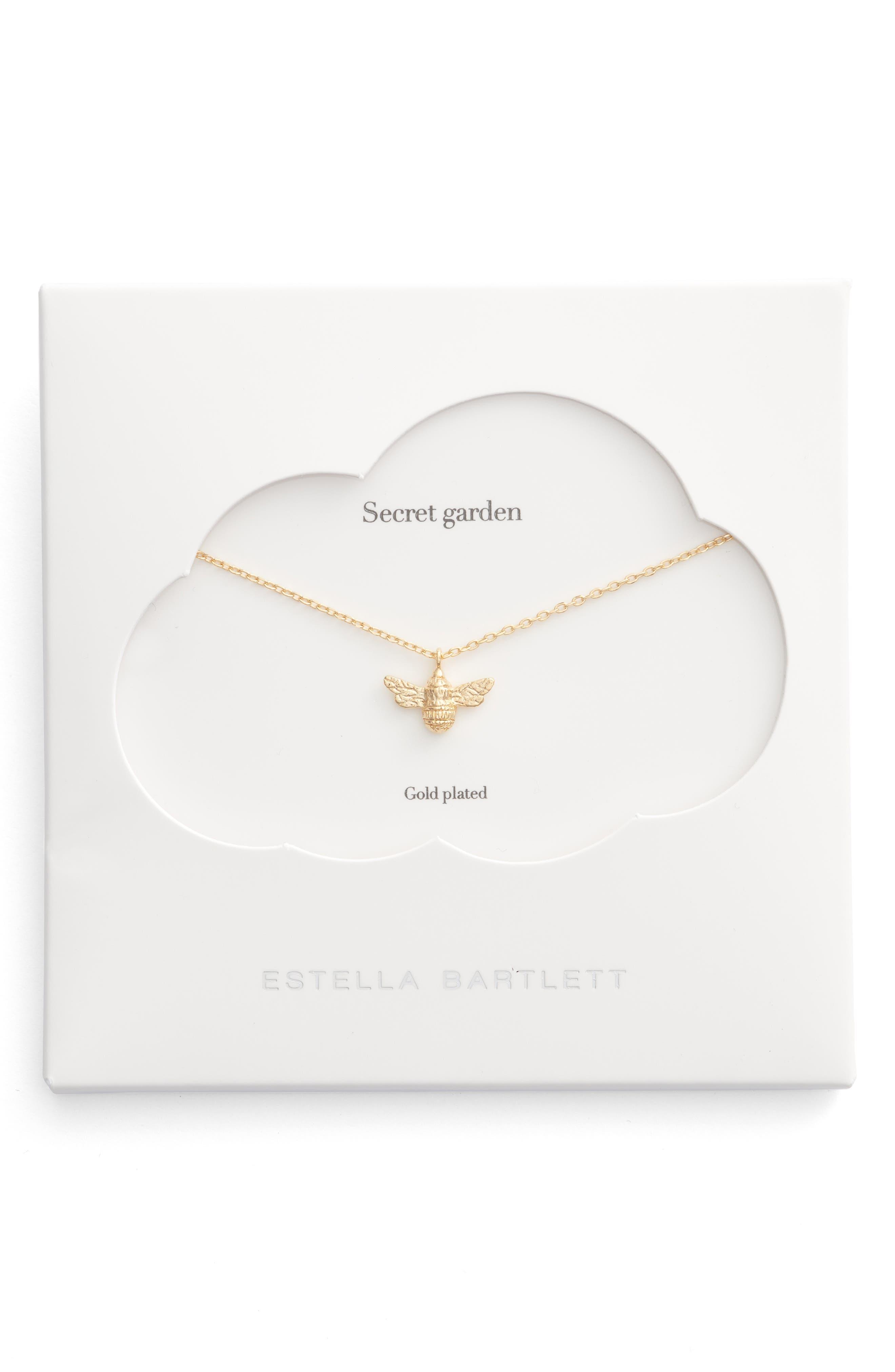 ESTELLA BARTLETT Treasure Me Bee Necklace