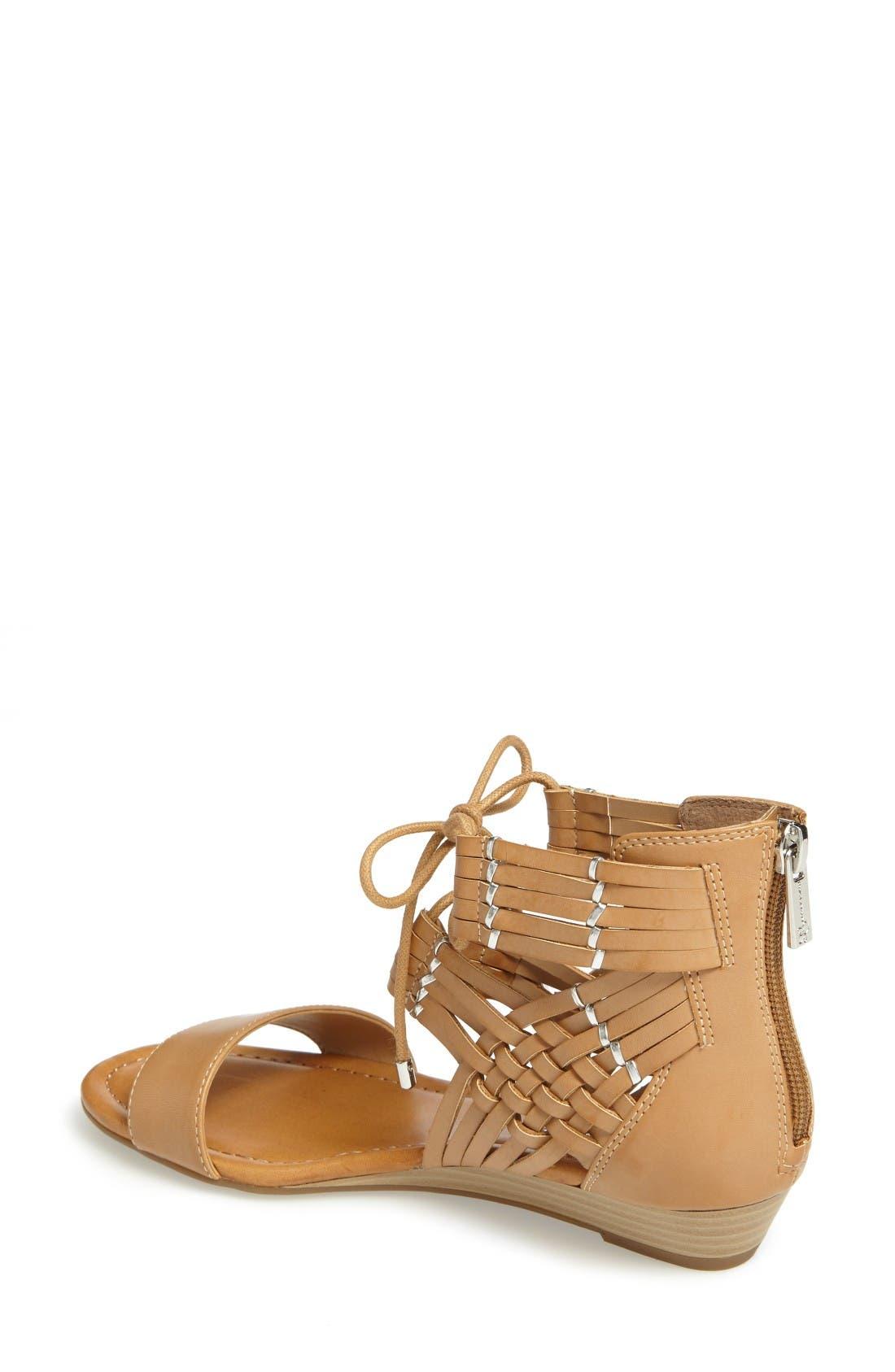 Alternate Image 2  - Jessica Simpson Lourra Woven Sandal (Women)