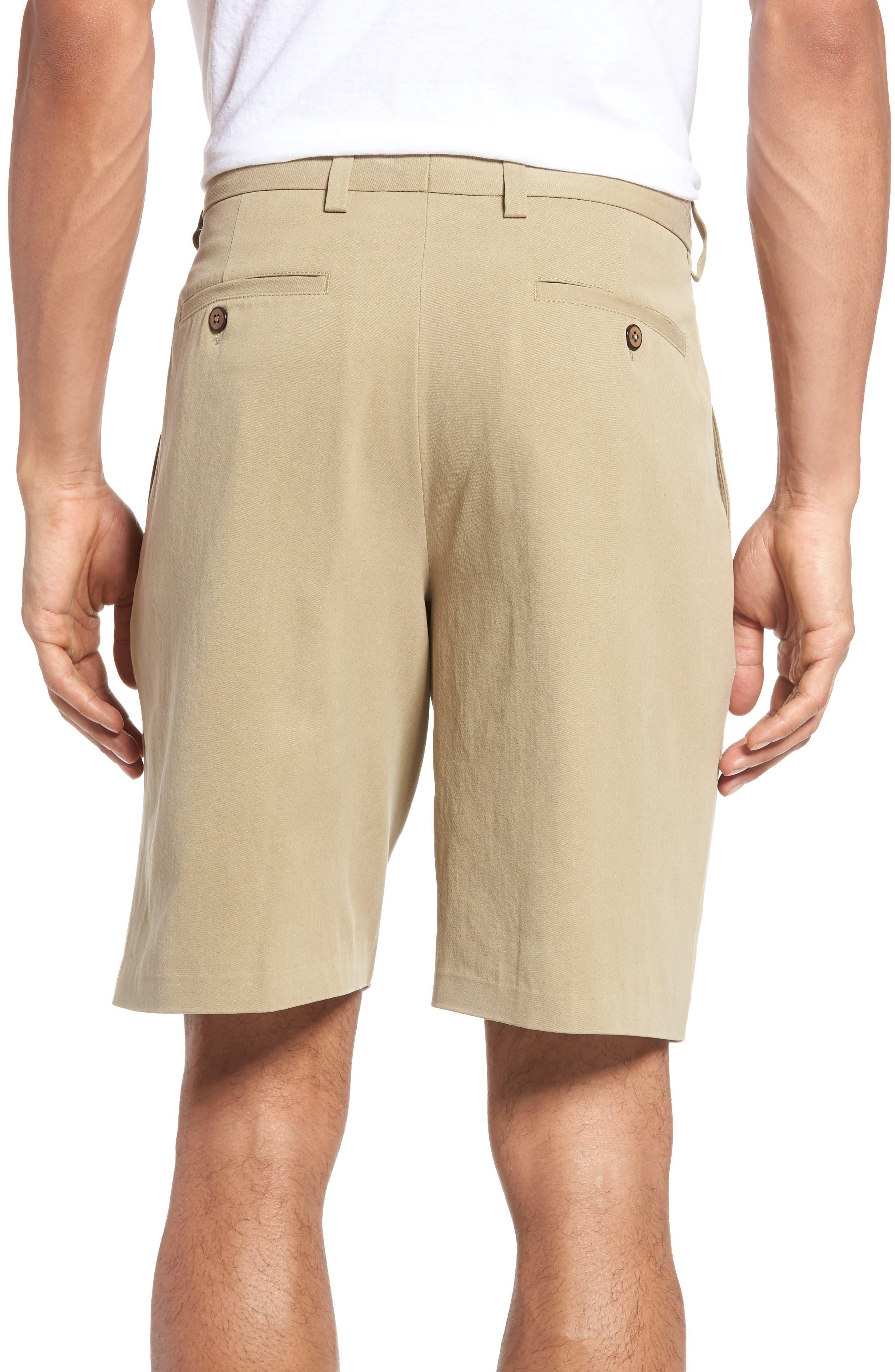 St. Thomas Pleated Shorts,                             Alternate thumbnail 2, color,                             Sisal