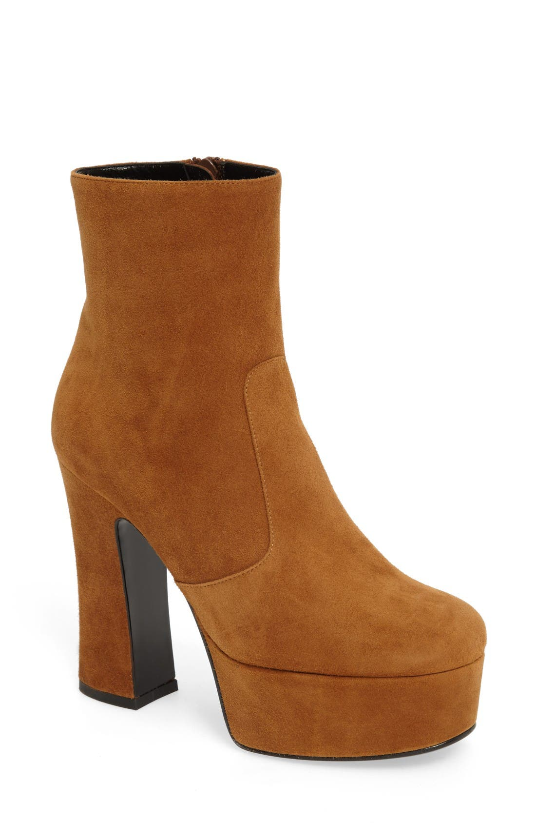 Main Image - Saint Laurent Candy Platform Bootie (Women)