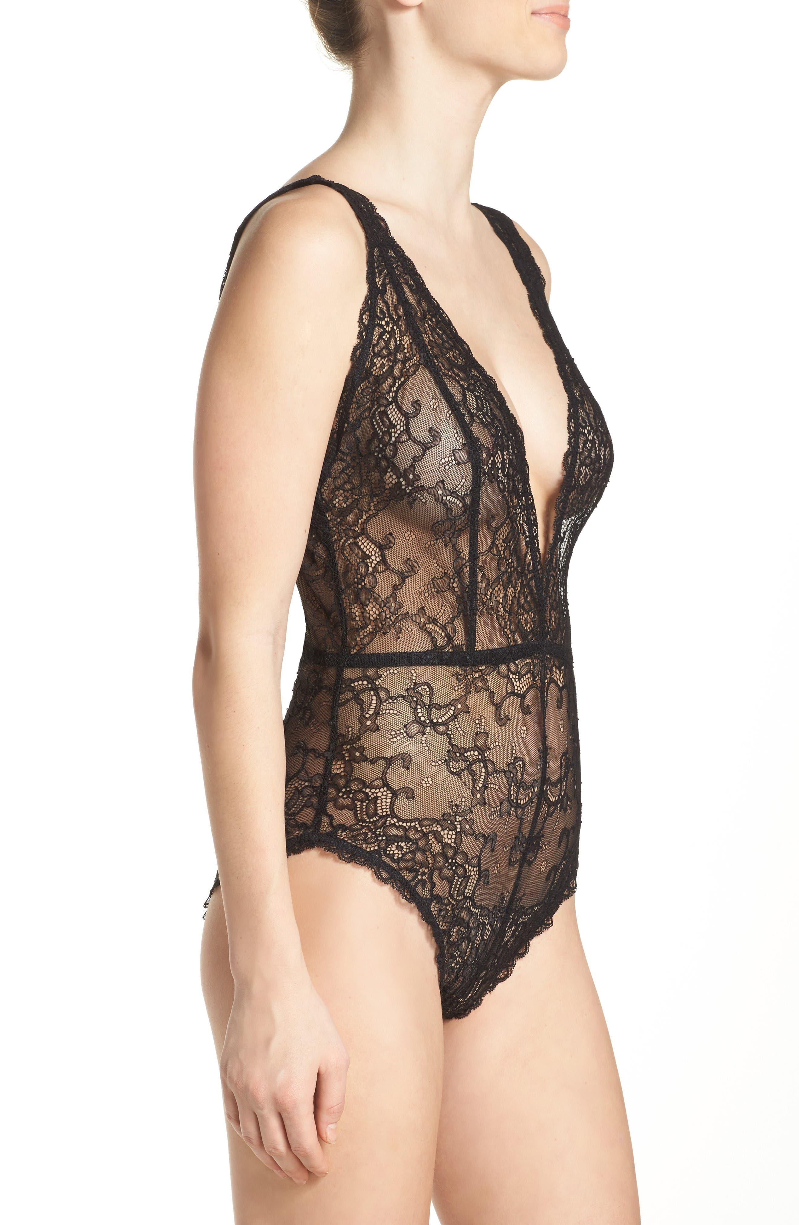 Alternate Image 3  - Chelsea28 Lace Bodysuit