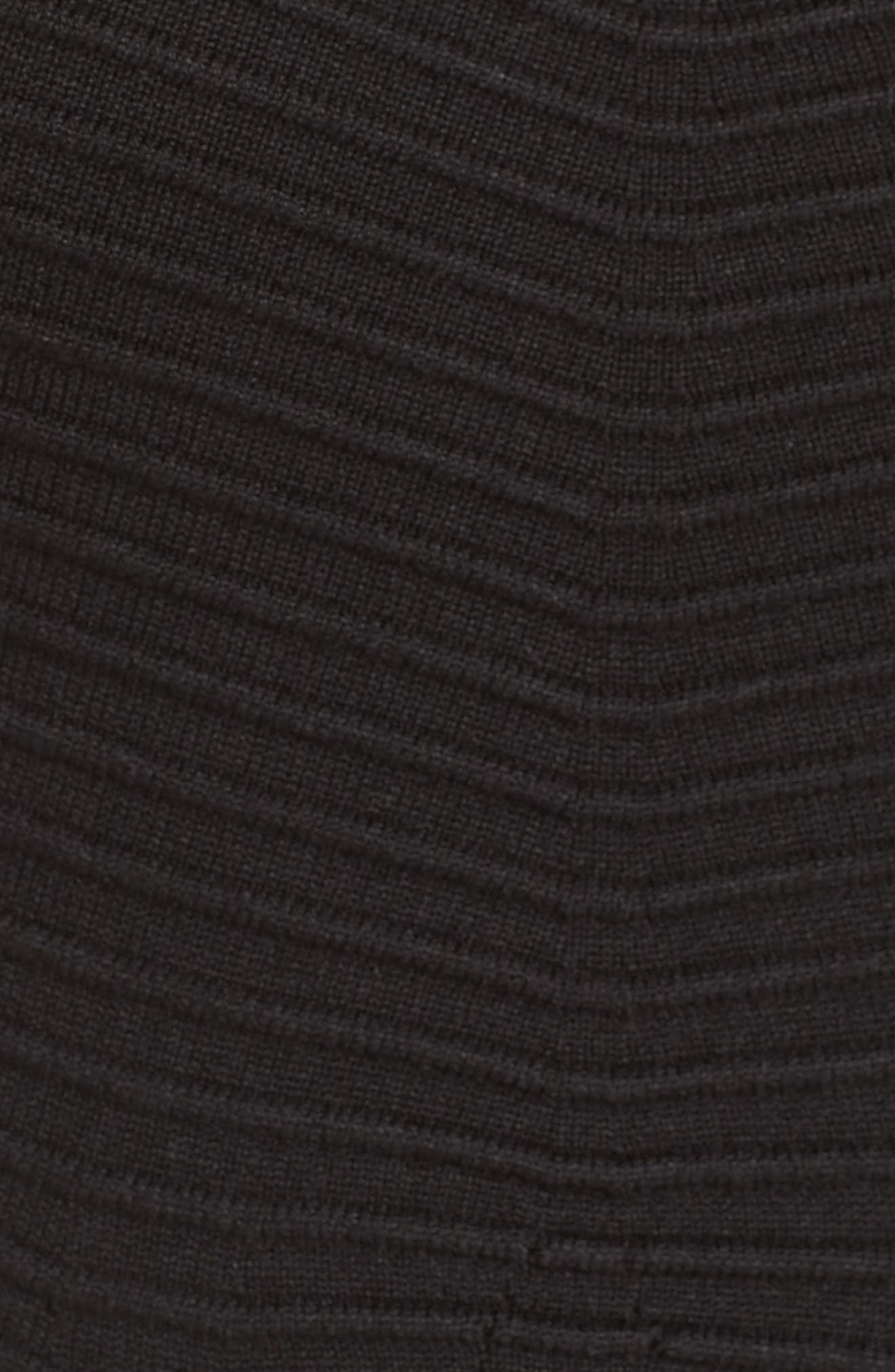 Alternate Image 6  - Eliza J Chevron Fit & Flare Dress
