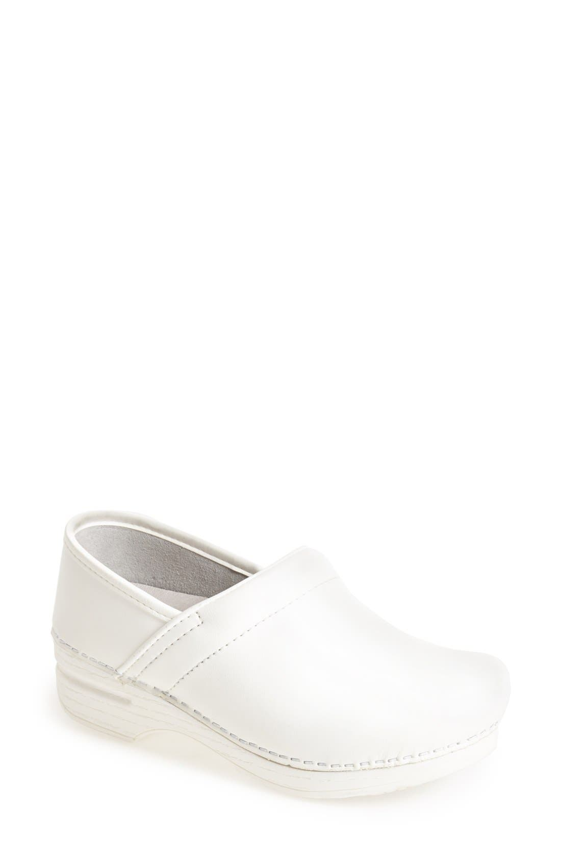 'Pro XP' Clog,                         Main,                         color, White