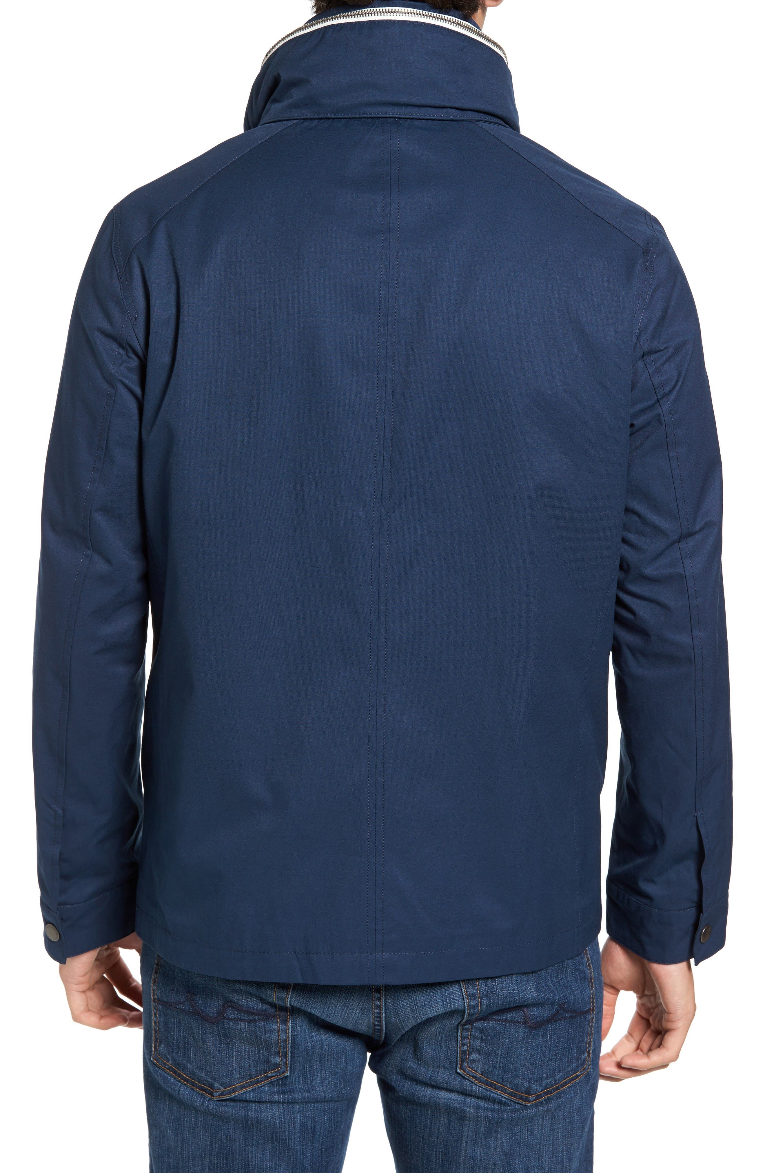 Military Oxford Jacket,                             Alternate thumbnail 2, color,                             Indigo