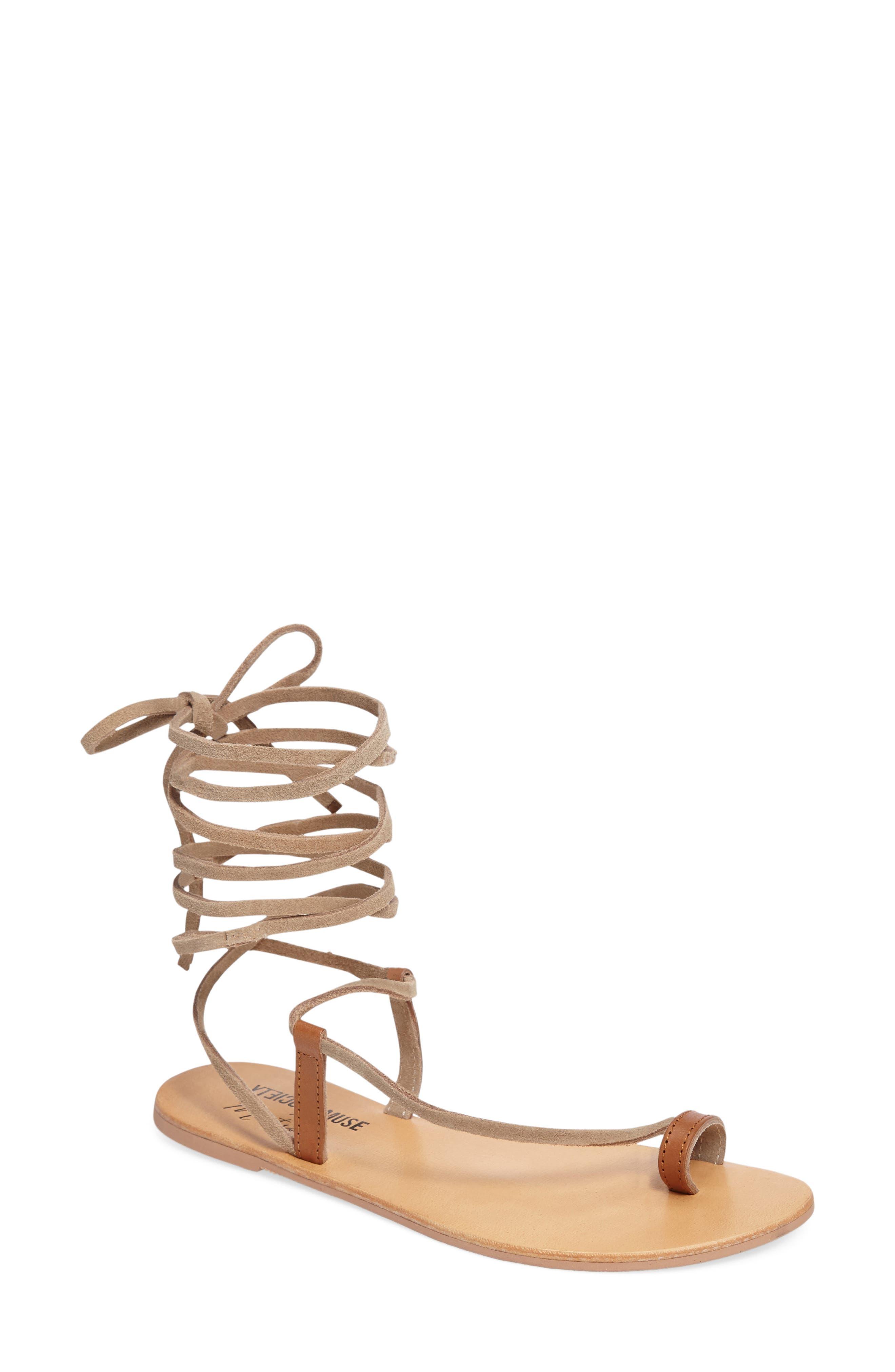 Alternate Image 1 Selected - Amuse Society x Matisse Getaway Wraparound Sandal (Women)