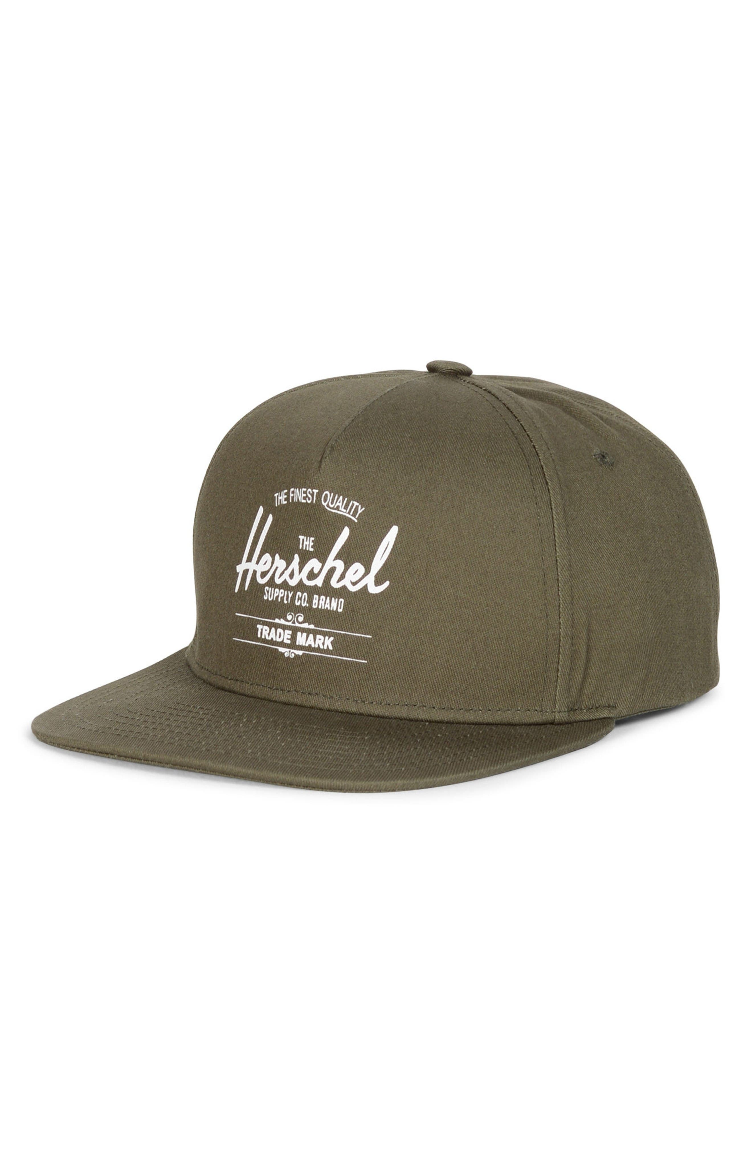 Whaler Snapback Baseball Cap,                             Main thumbnail 1, color,                             Army