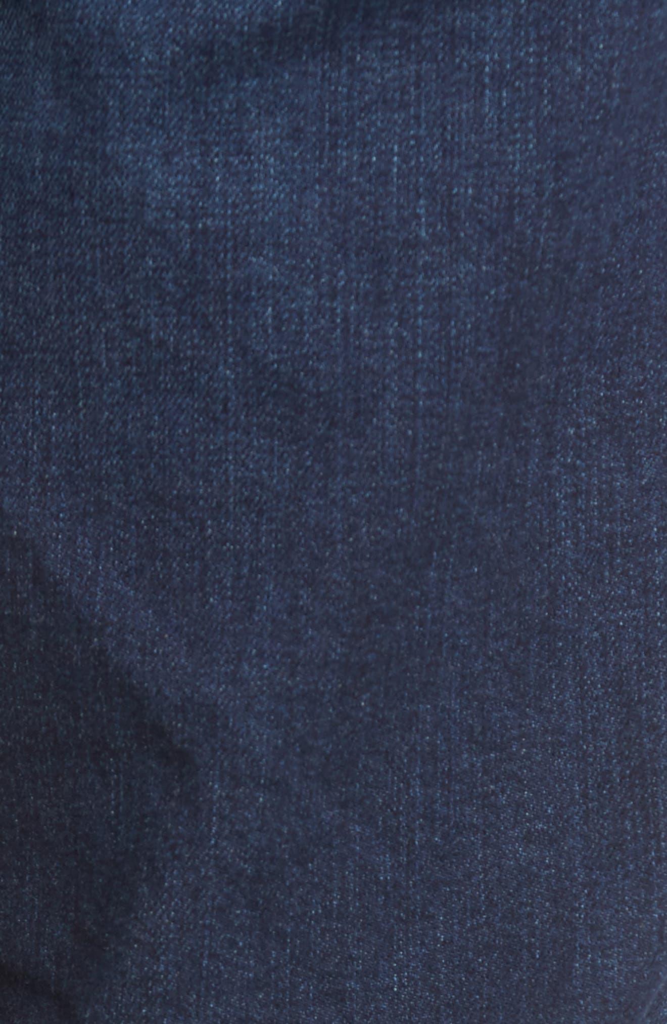 Sleenker Skinny Fit Jeans,                             Alternate thumbnail 5, color,                             0854E