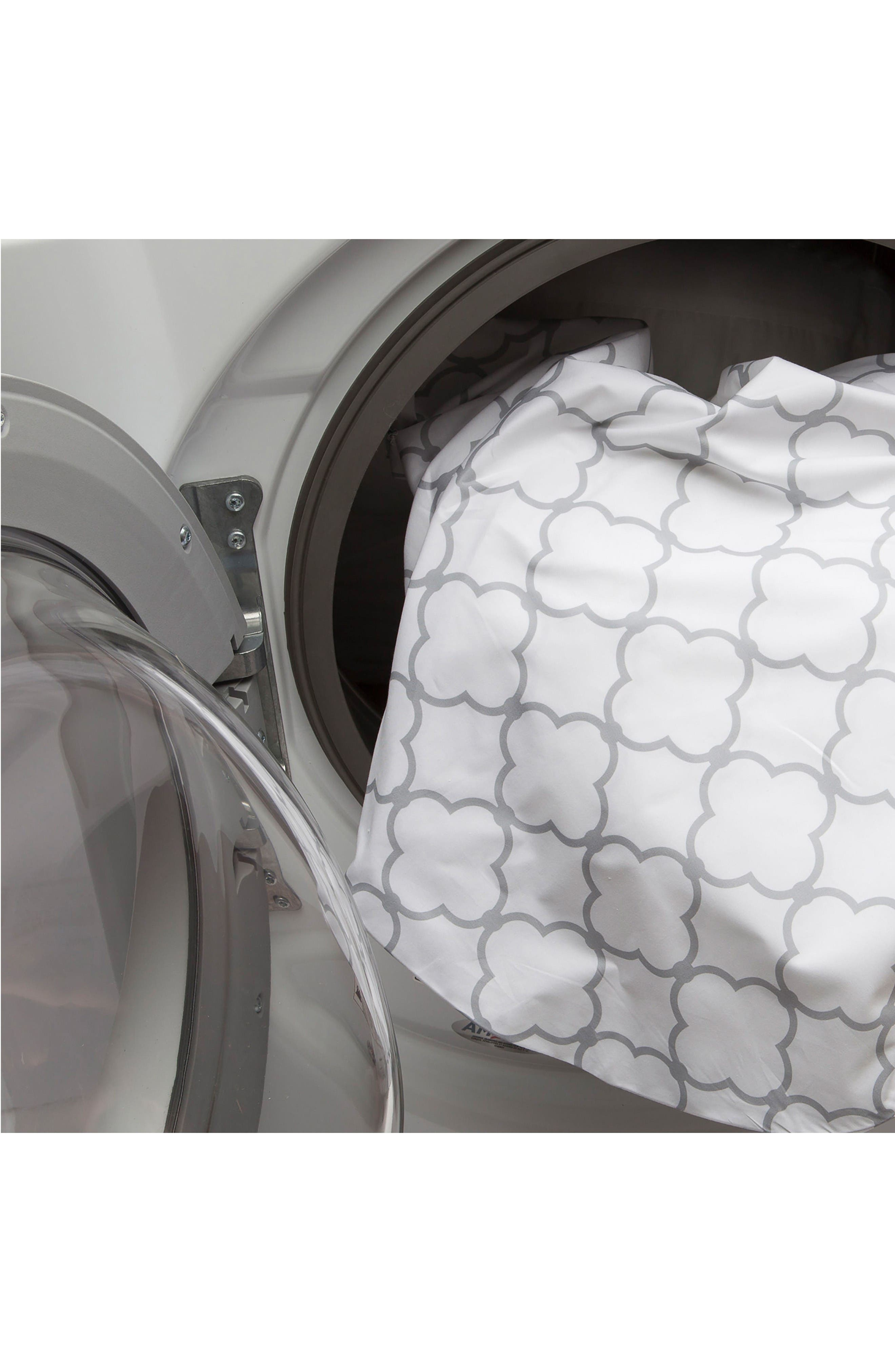 Total Pregnancy Support Pillow,                             Alternate thumbnail 5, color,                             White Trellis