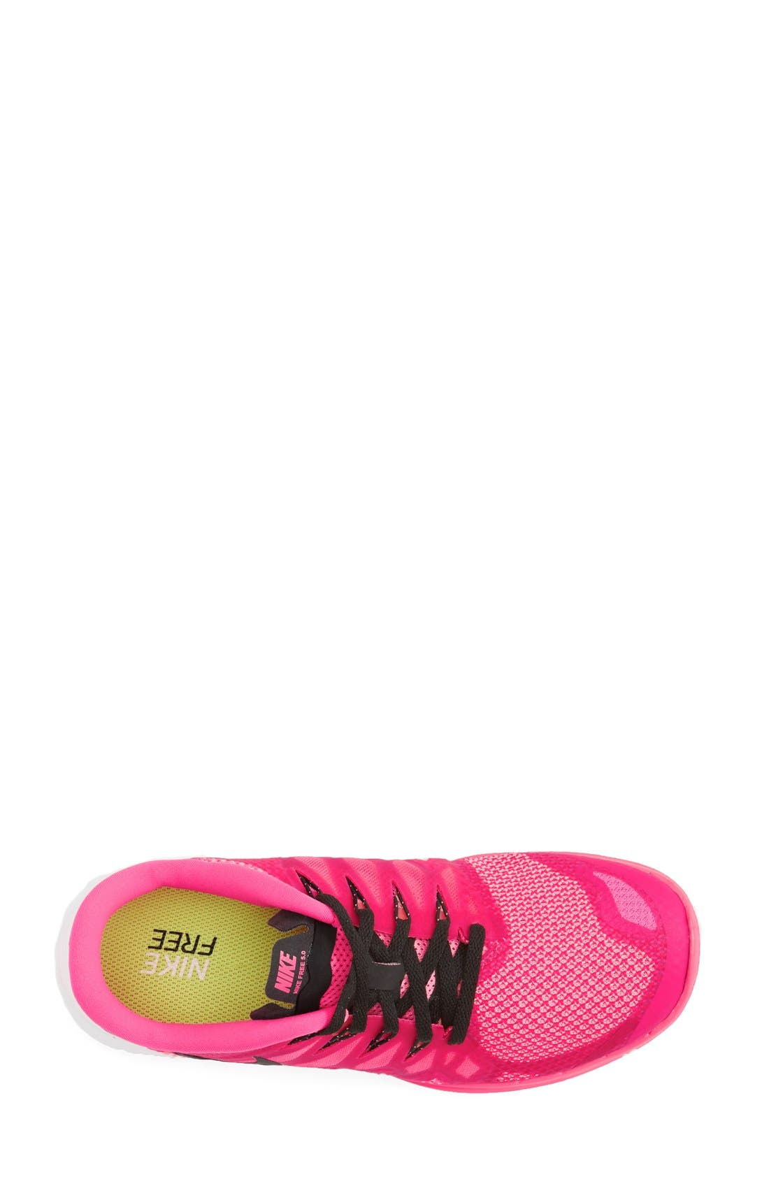 'Free 5.0 14' Running Shoe,                             Alternate thumbnail 3, color,                             Pink/ Polarized Pink