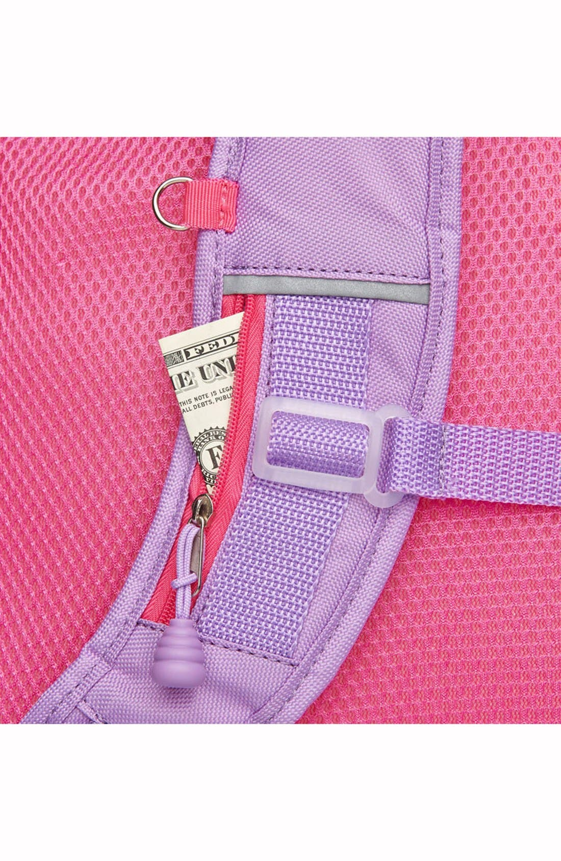'Medium Sparkalicious' Backpack,                             Alternate thumbnail 4, color,                             Pink