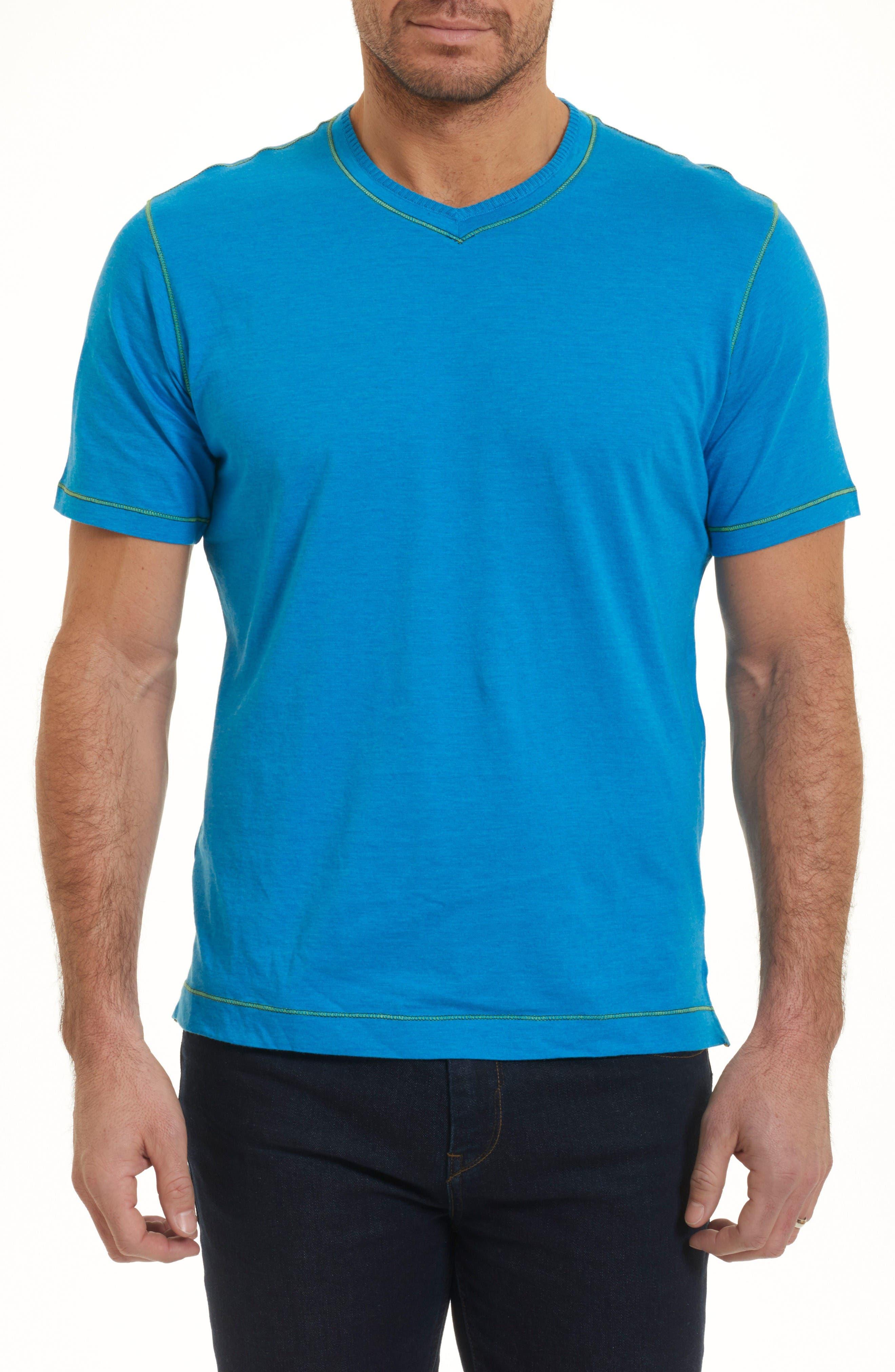 Alternate Image 1 Selected - Robert Graham Traveler V-Neck T-Shirt