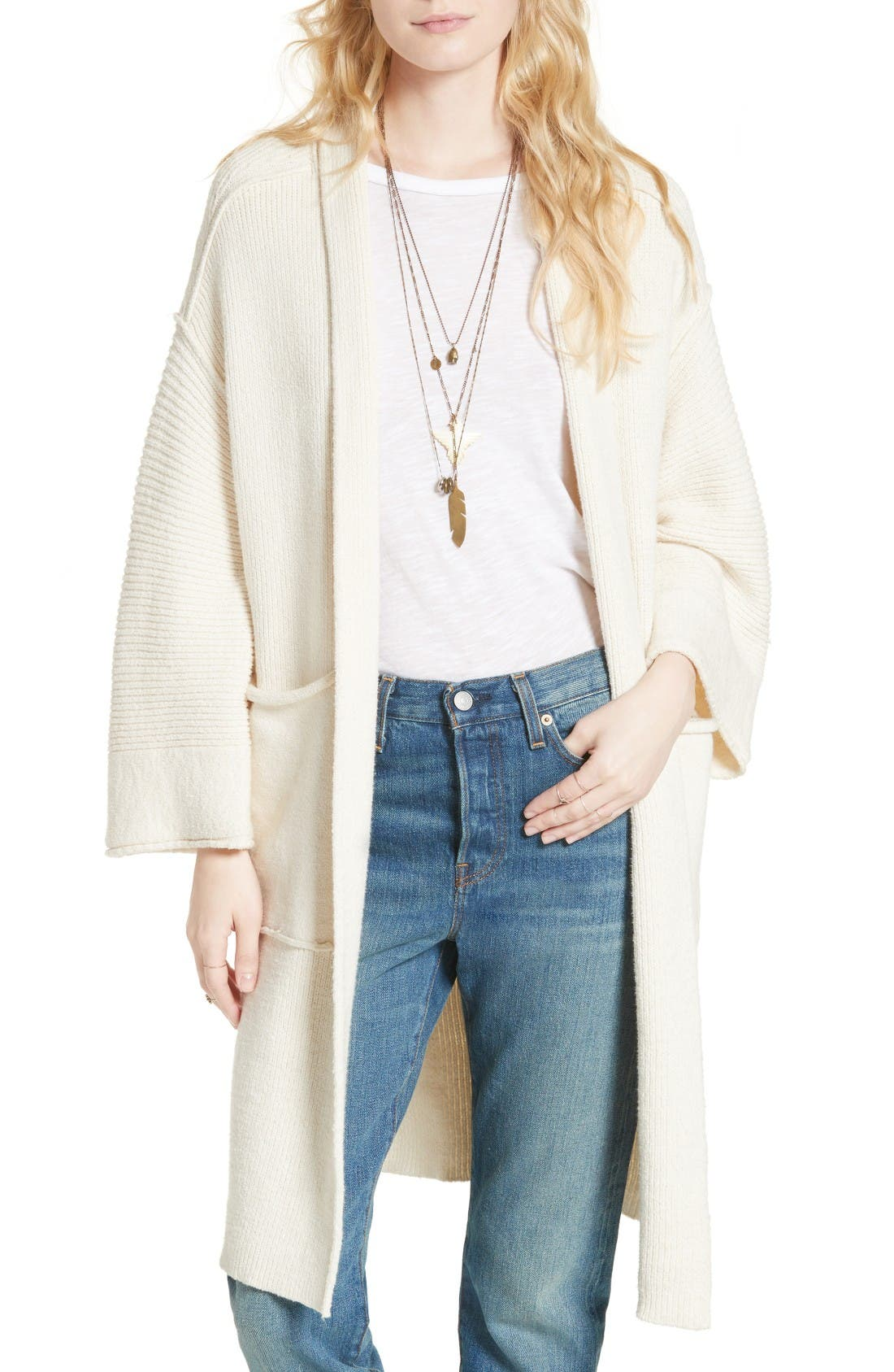 Alternate Image 1 Selected - Free People By the Campfire Cardigan