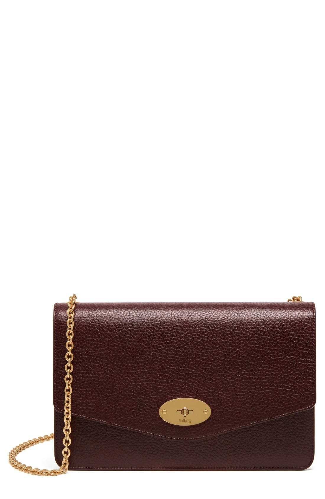 Main Image - Mulberry Large Postman's Lock Clutch