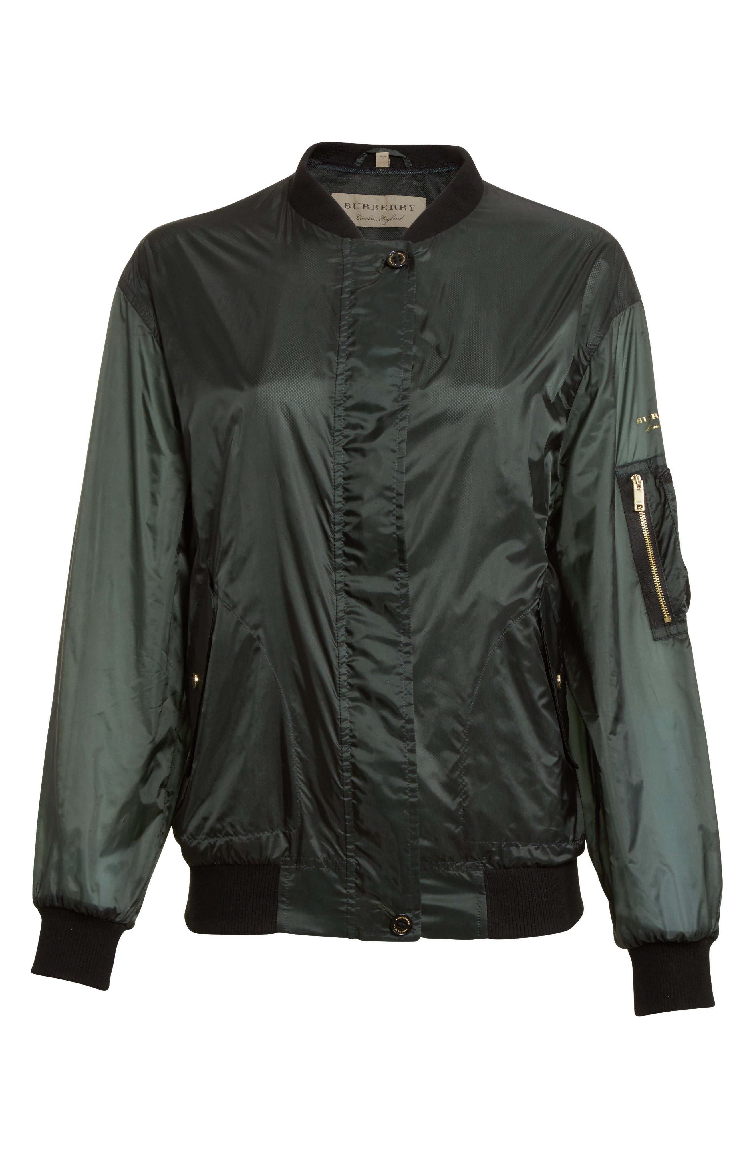 Alternate Image 4  - Burberry Mayther Technical Bomber