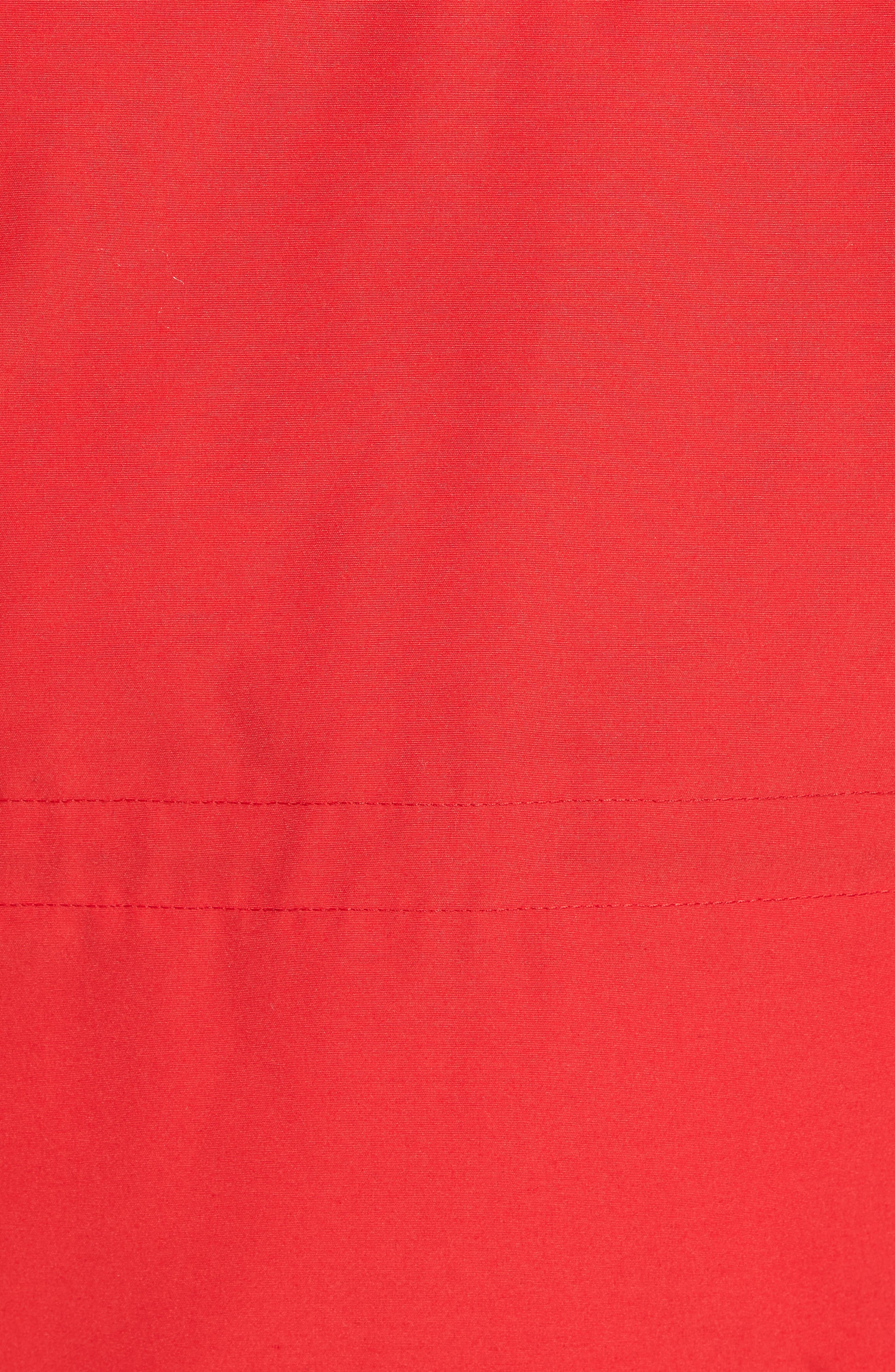'Constable' Regular Fit Water Resistant Down Parka,                             Alternate thumbnail 5, color,                             Red