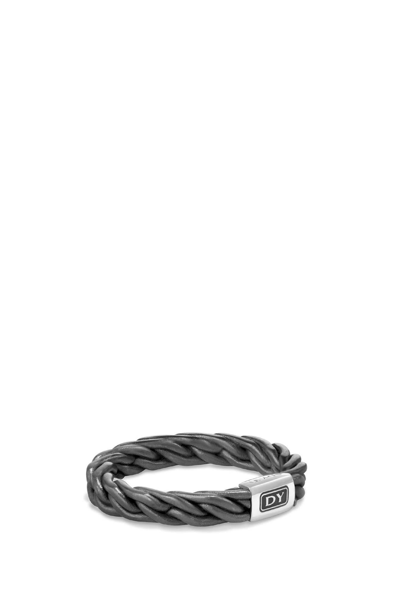 Titanium Band Ring,                             Main thumbnail 1, color,                             Gunmetal/ Titanium