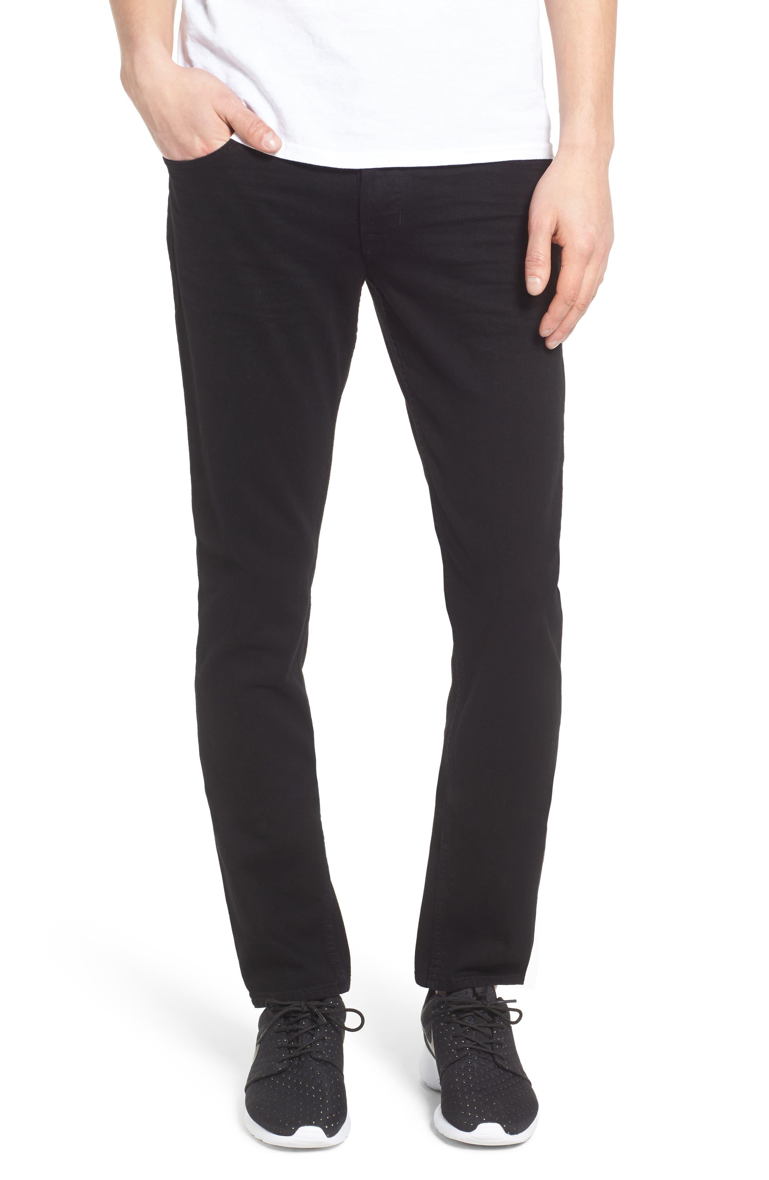 Hudson Jeans Axl Skinny Fit Jeans (Heron)