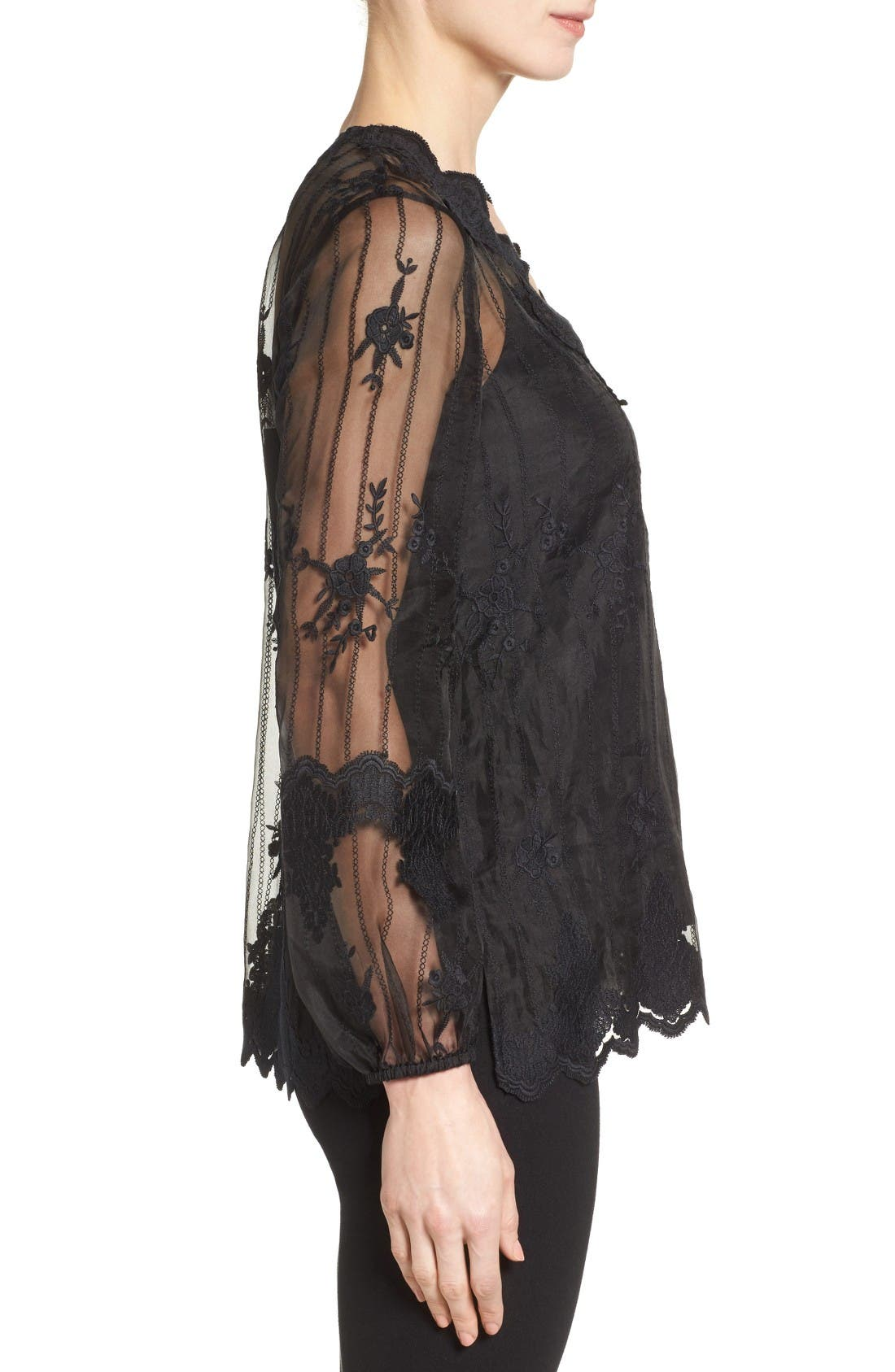 Alternate Image 3  - Kobi Halperin Westerlee Embroidered Lace Blouse