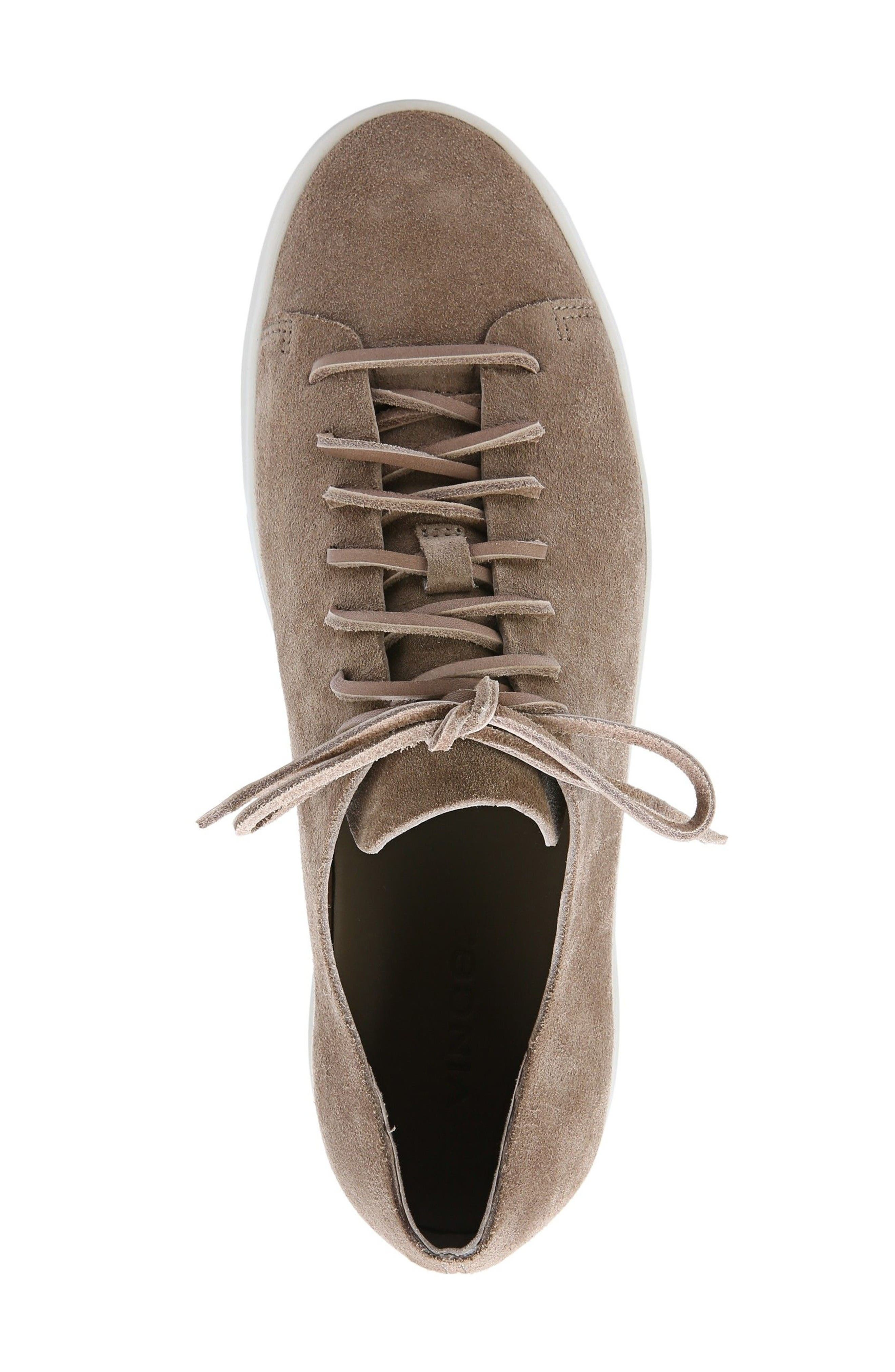 Copeland Sneaker,                             Alternate thumbnail 3, color,                             Flint Tan Suede