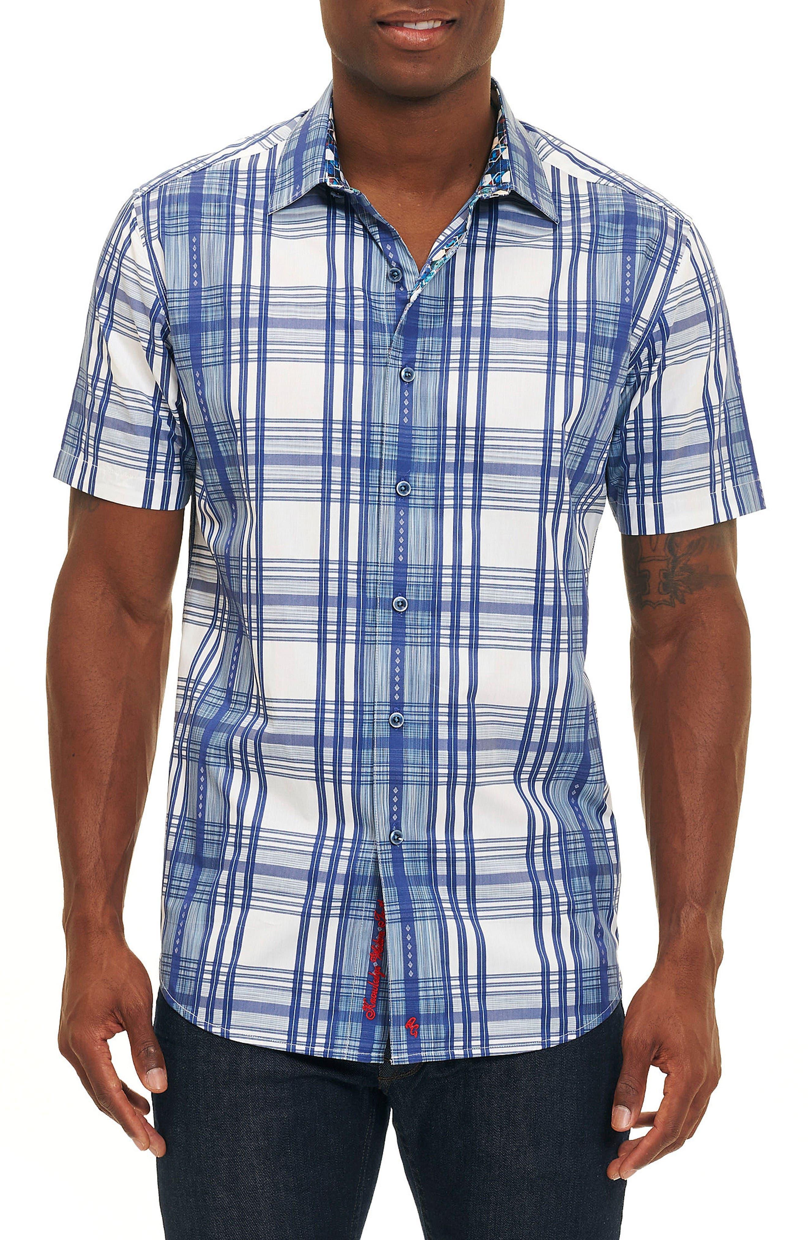 Main Image - Robert Graham East Timor Plaid Sport Shirt