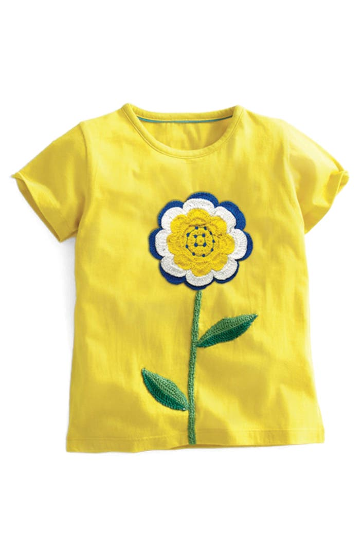 Mini boden floral crochet tee toddler girls little girls for Shop mini boden